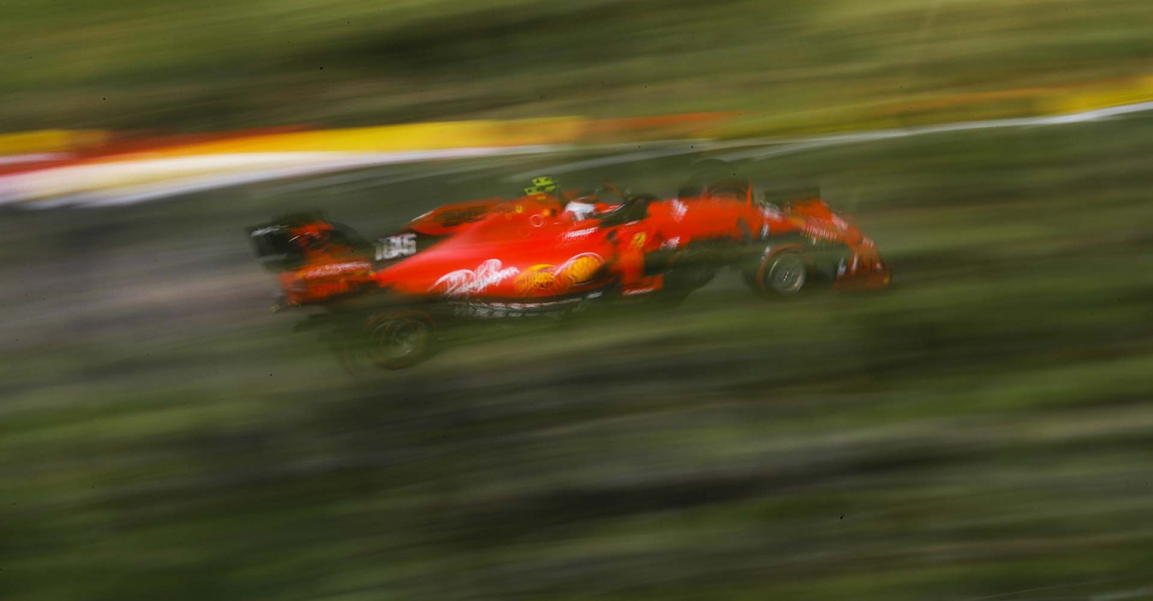 SPA-FRANCORCHAMPS, BELGIUM - AUGUST 31: Charles Leclerc, Ferrari SF90 during the Belgian GP at Spa-Francorchamps on August 31, 2019 in Spa-Francorchamps, Belgium. (Photo by Steven Tee / LAT Images)
