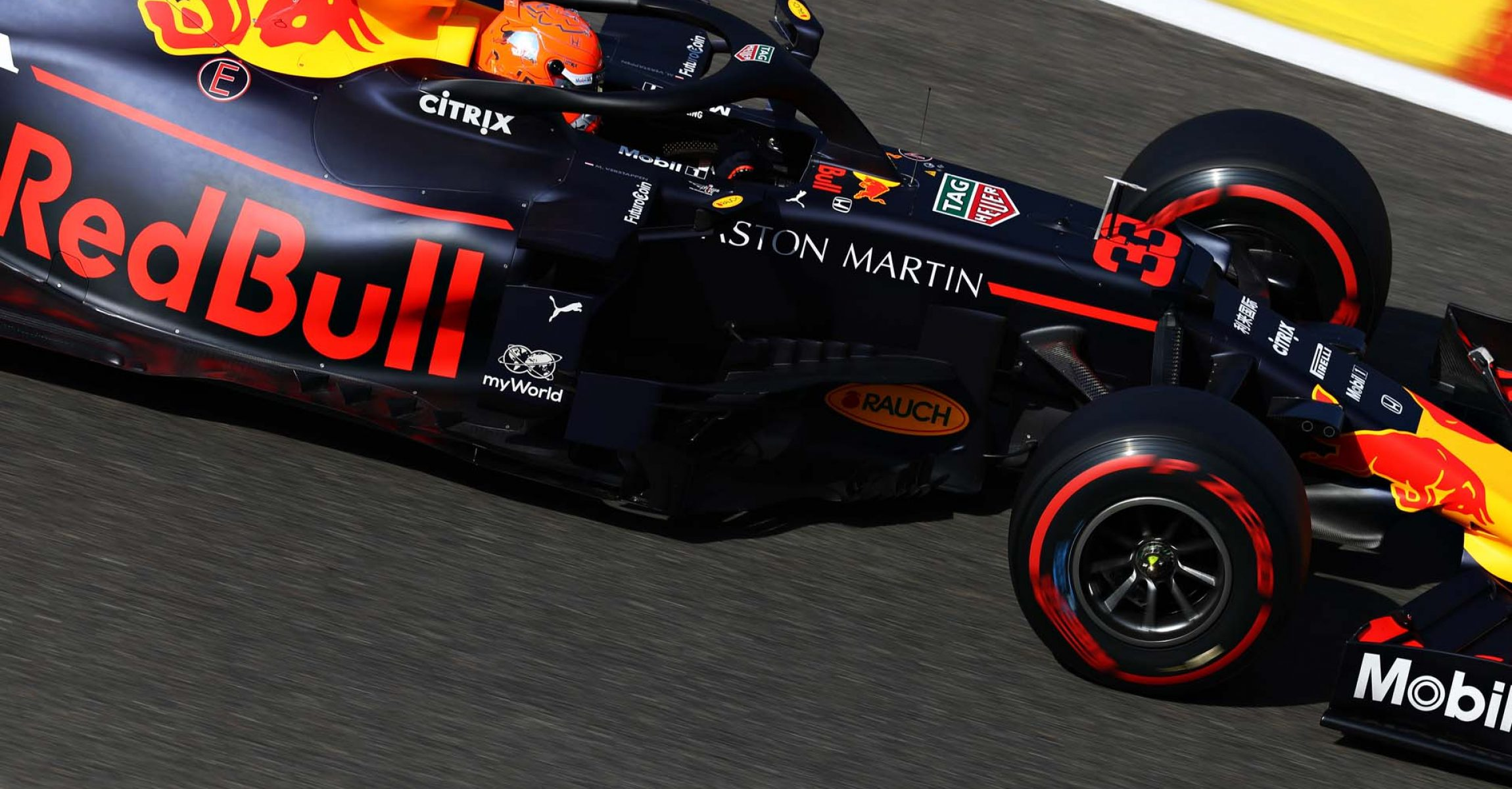SPA, BELGIUM - AUGUST 31: Max Verstappen of the Netherlands driving the (33) Aston Martin Red Bull Racing RB15 on track during final practice for the F1 Grand Prix of Belgium at Circuit de Spa-Francorchamps on August 31, 2019 in Spa, Belgium. (Photo by Mark Thompson/Getty Images) // Getty Images / Red Bull Content Pool  // AP-21E7ACQKW2111 // Usage for editorial use only //