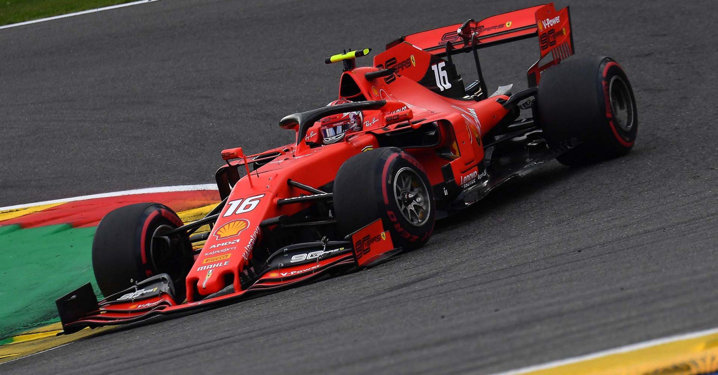 GP BELGIO  F1/2019 -  DOMENICA 01/09/2019   credit: @Scuderia Ferrari Press Office Charles Leclerc, Ferrari