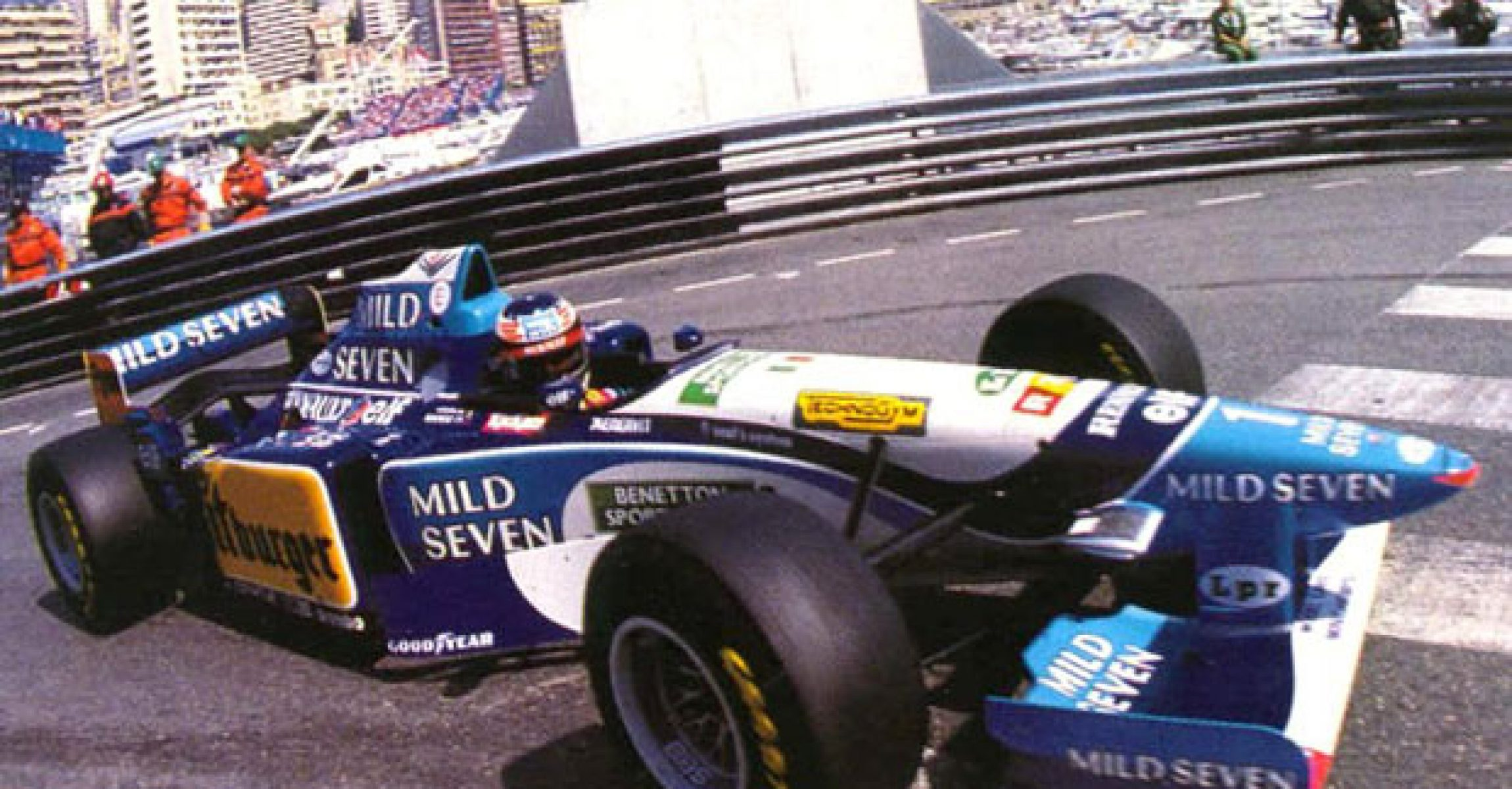 Michael Schumacher, Benetton, Monaco Grand Prix, 1995