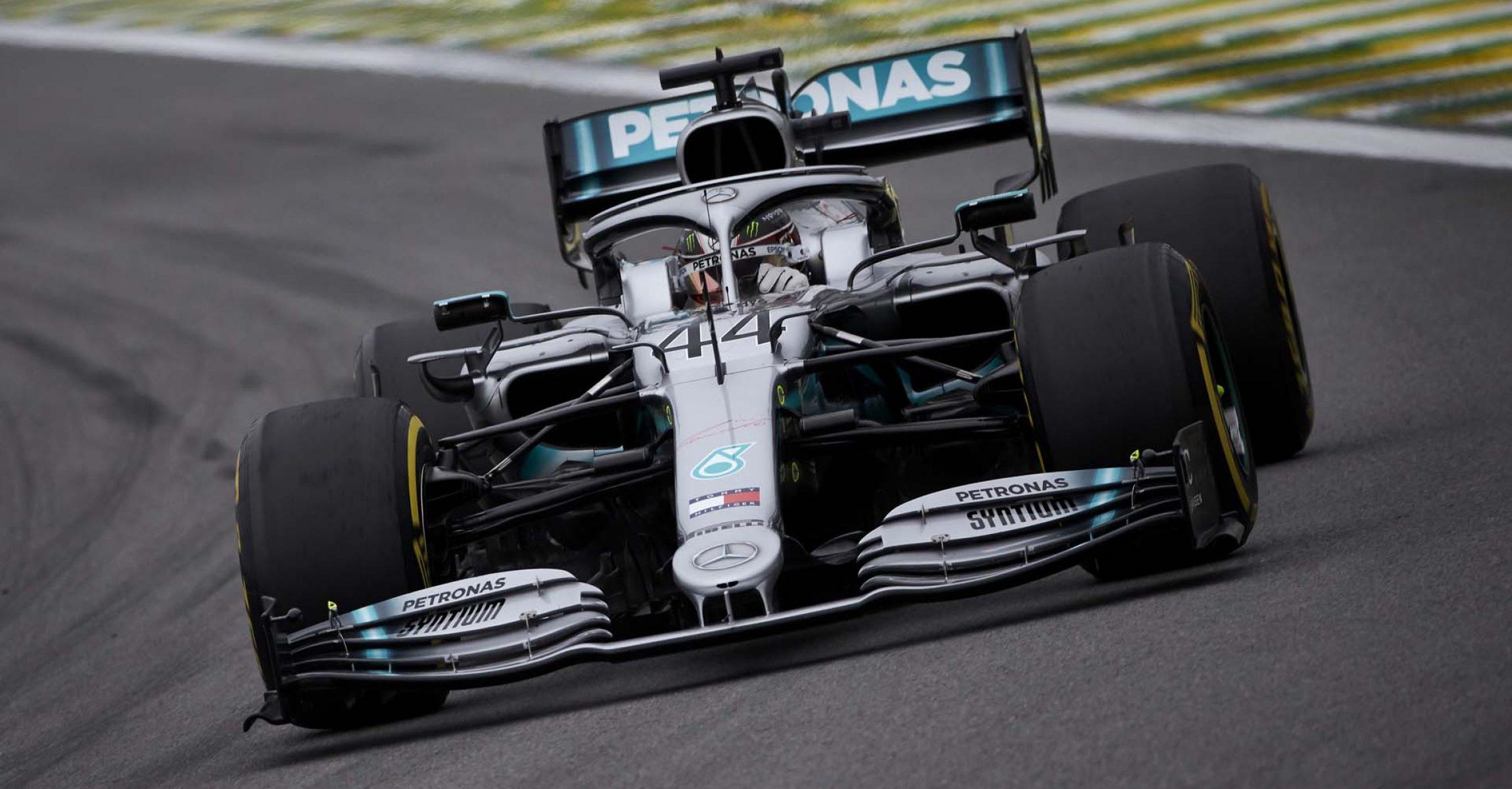 2019 Brazilian Grand Prix, Friday - Steve Etherington Lewis Hamilton Mercedes