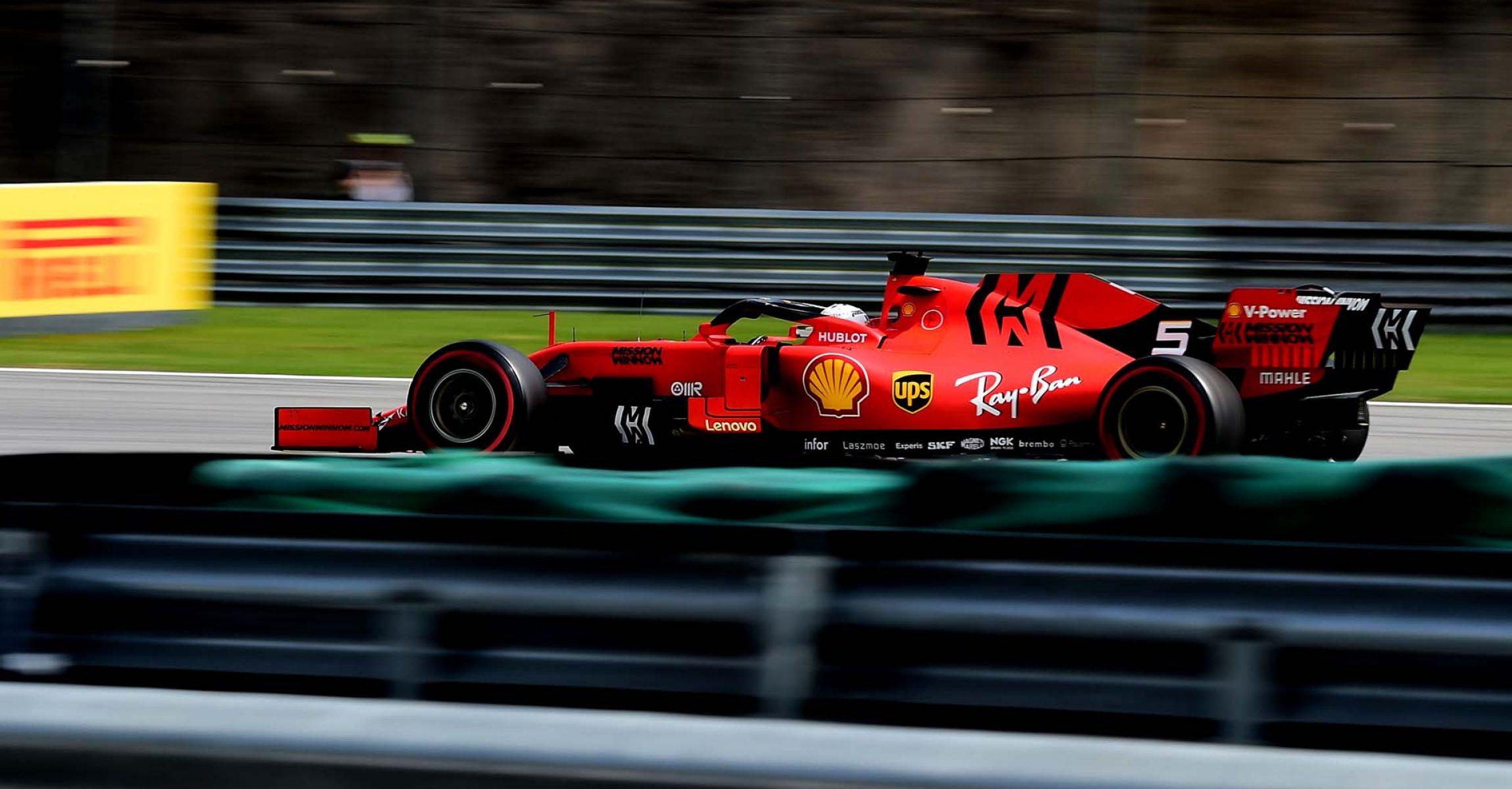 GP BRASILE F1/2019 - DOMENICA 17/11/2019 credit: @Scuderia Ferrari Press Office Sebastian Vettel Ferrari