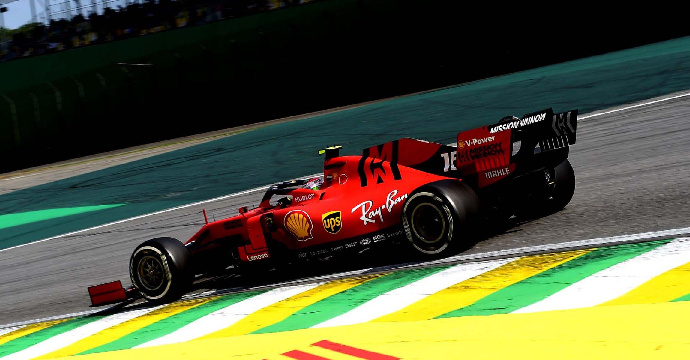 GP BRASILE F1/2019 - DOMENICA 17/11/2019 credit: @Scuderia Ferrari Press Office Charles Leclerc, Ferrari