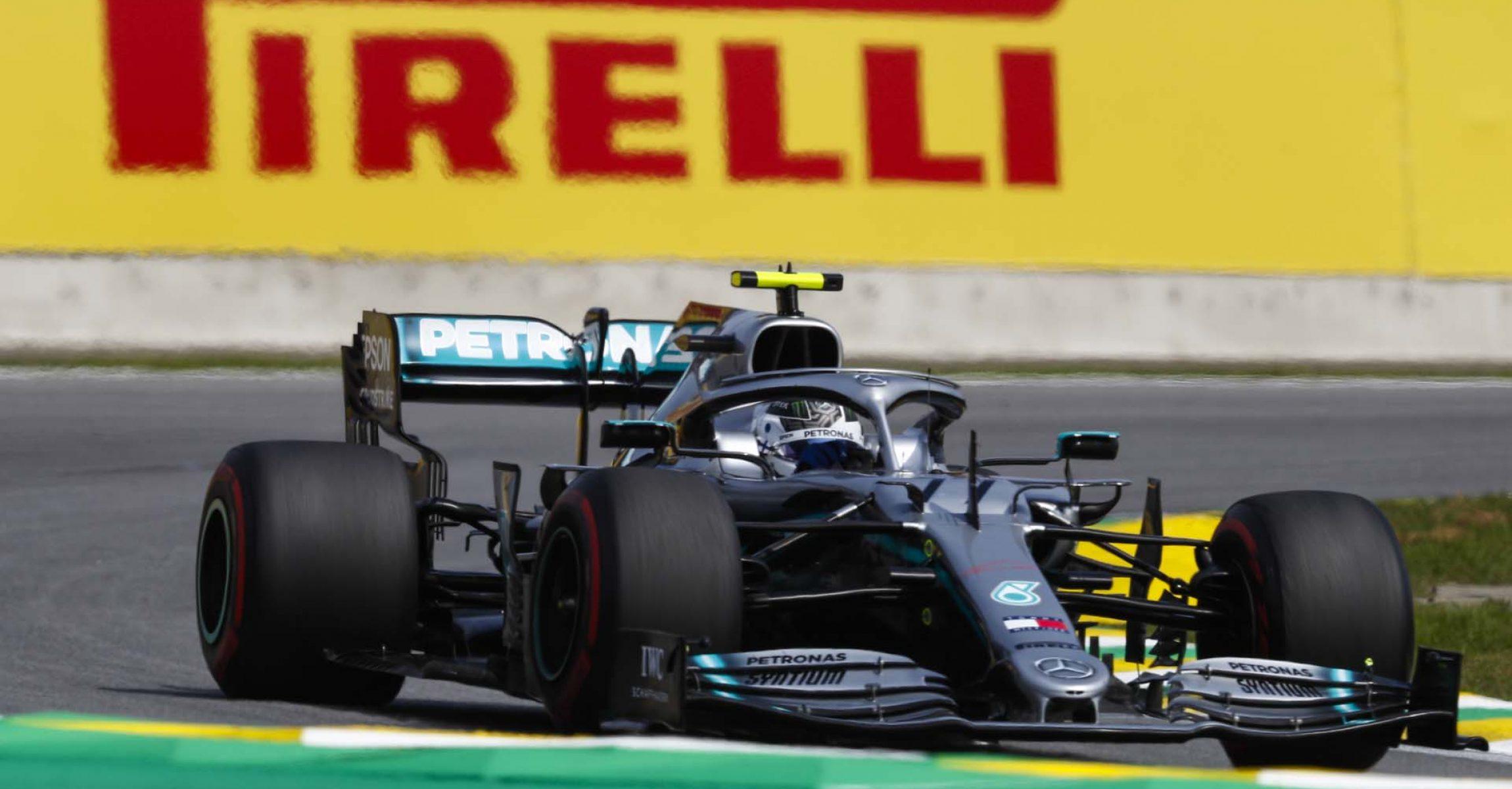 2019 Brazilian Grand Prix, Sunday - LAT Images Valtteri Bottas Mercedes