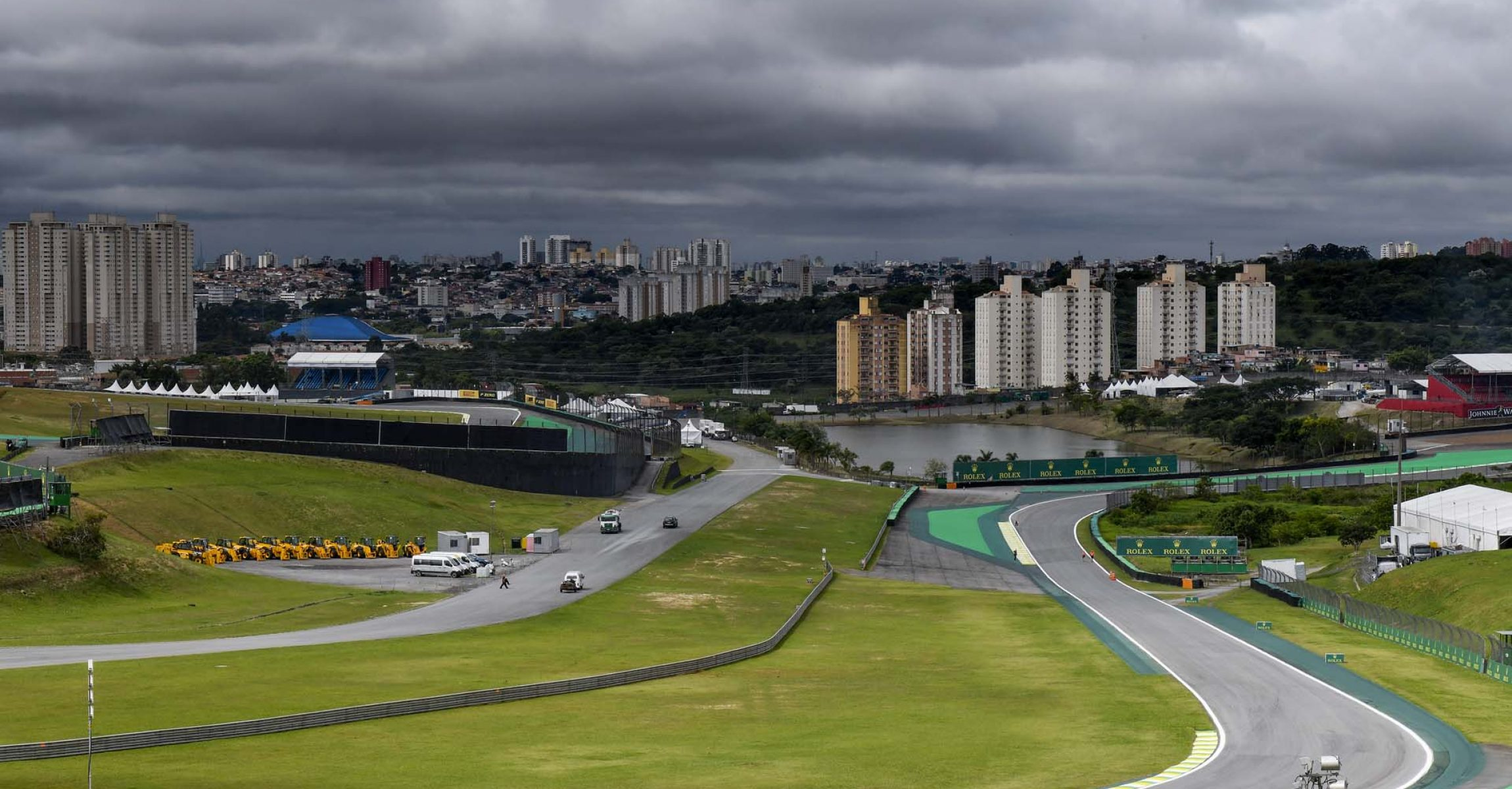 INTERLAGOS track, piste, during the 2018 Formula One World Championship, Brazil Grand Prix from November 08 to 11 in Sao Paulo, Brazil - Photo Eric Vargiolu / DPPI.