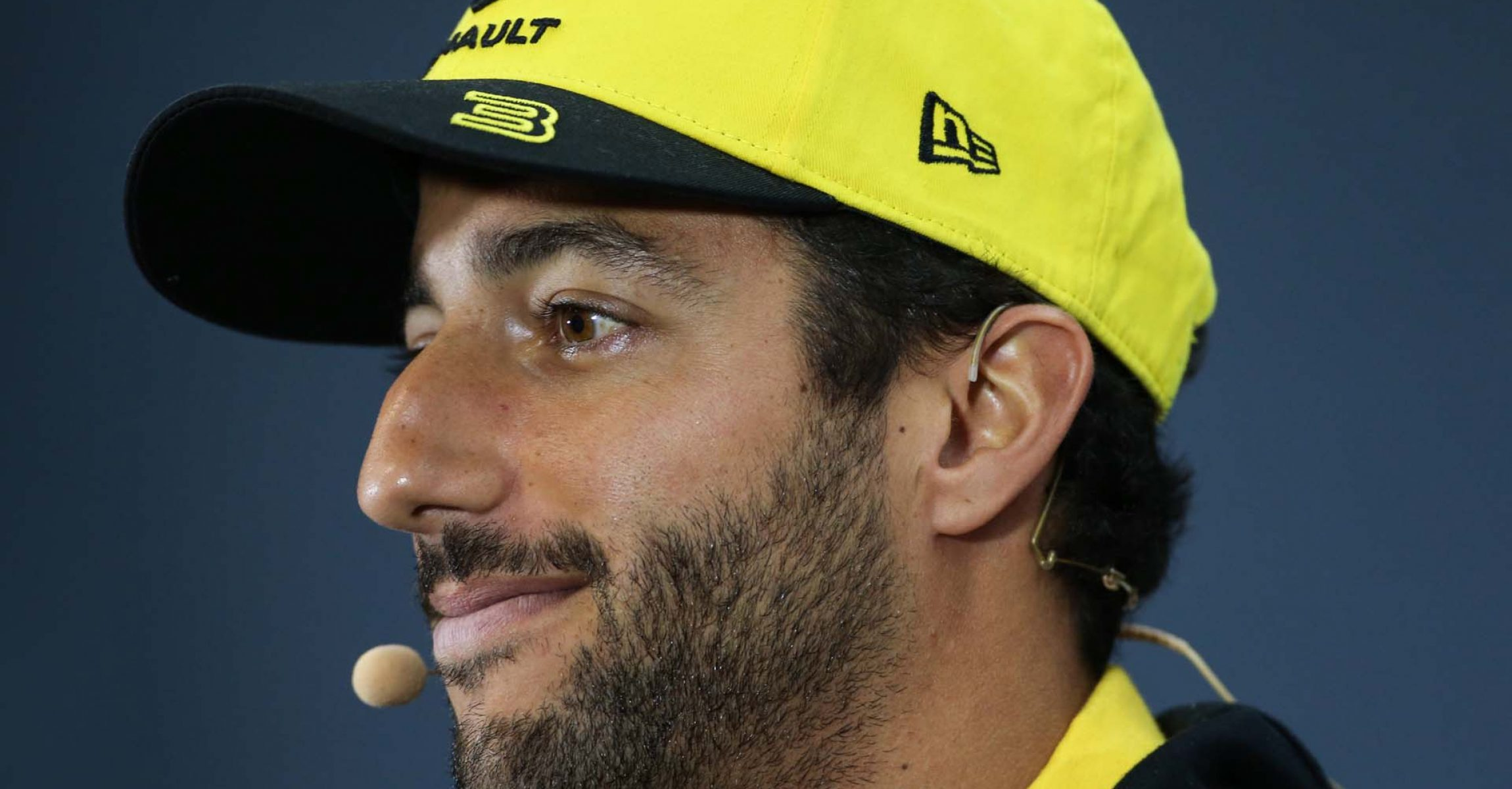 Daniel Ricciardo (AUS) Renault F1 Team in the FIA Press Conference. Brazilian Grand Prix, Thursday 14th November 2019. Sao Paulo, Brazil.