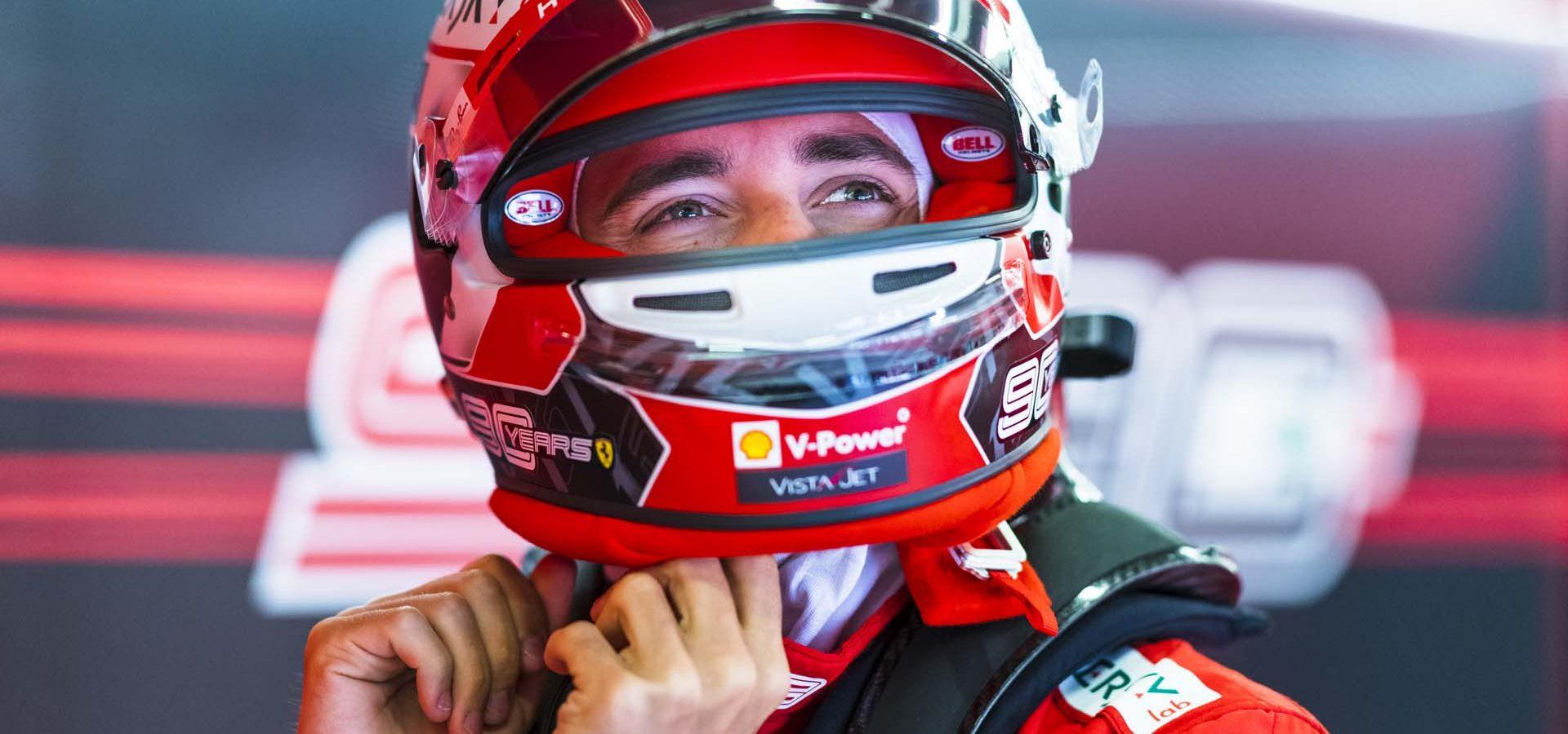 Charles Leclerc Ferrari