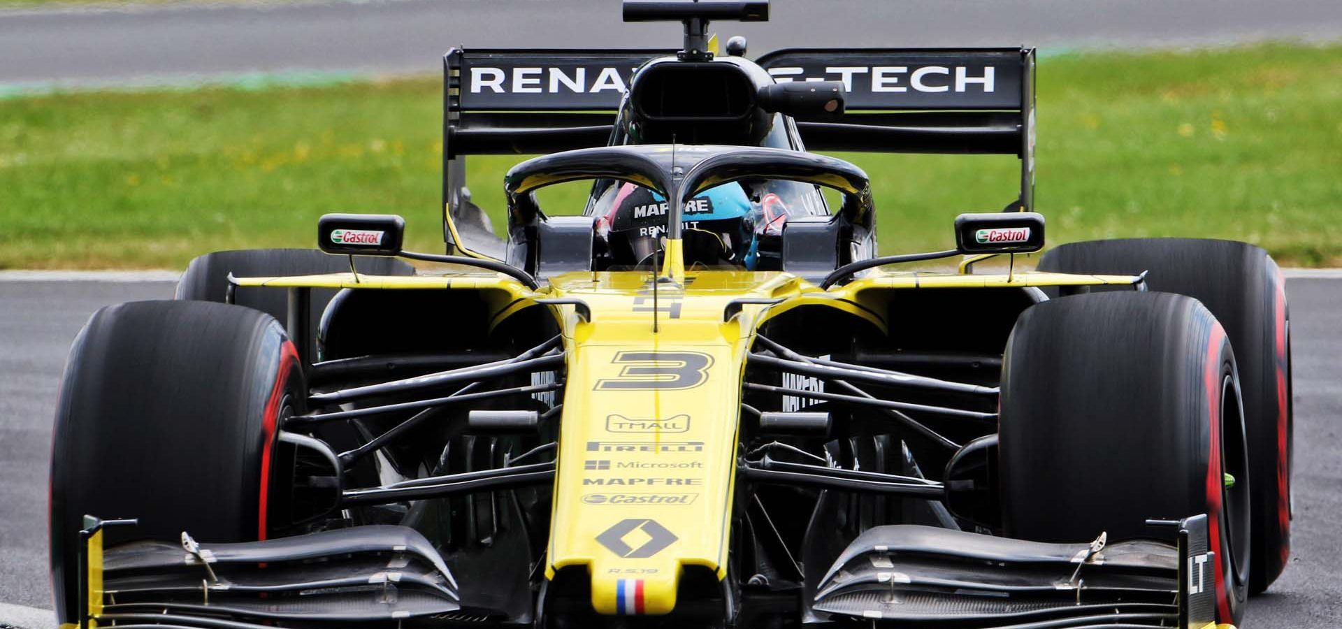 Daniel Ricciardo (AUS) Renault F1 Team RS19. British Grand Prix, Friday 12th July 2019. Silverstone, England.