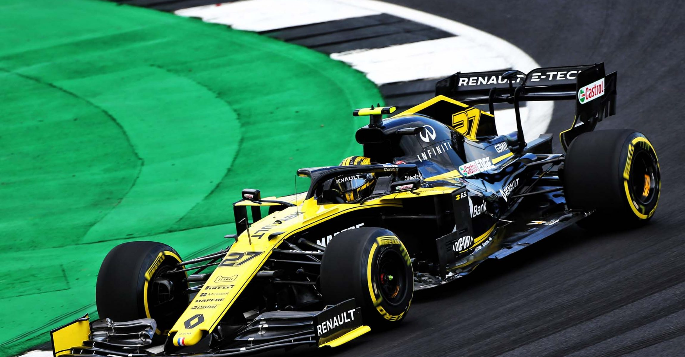 Nico Hülkenberg (GER) Renault F1 Team RS19. British Grand Prix, Friday 12th July 2019. Silverstone, England.