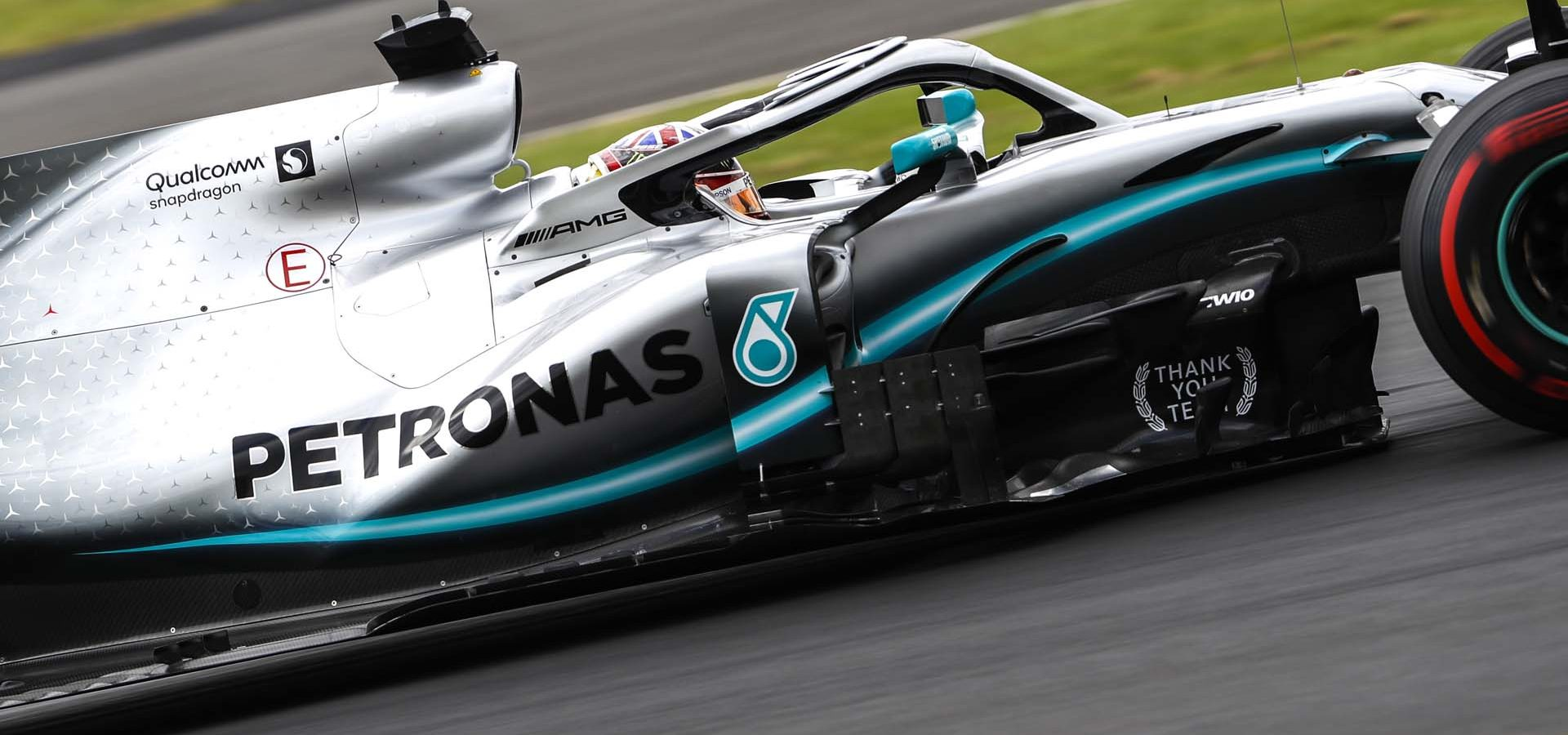 2019 British Grand Prix, Saturday - Wolfgang Wilhelm Lewis Hamilton Mercedes