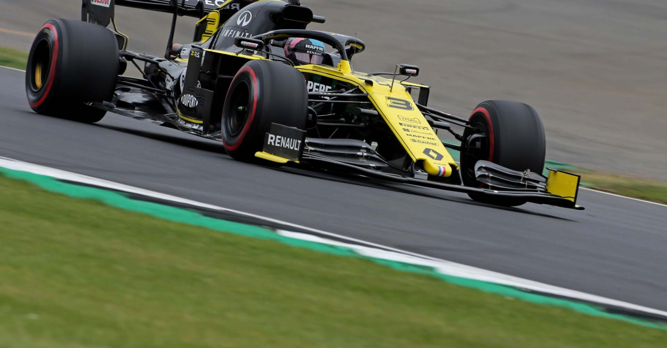 Daniel Ricciardo (AUS) Renault F1 Team RS19. British Grand Prix, Saturday 13th July 2019. Silverstone, England.