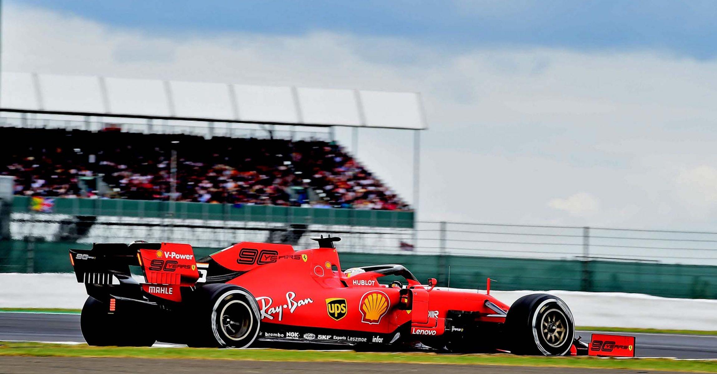 GP GRAN BRETAGNA F1/2019 - DOMENICA 14/07/2019 credit: @Scuderia Ferrari Press Office Sebastian Vettel