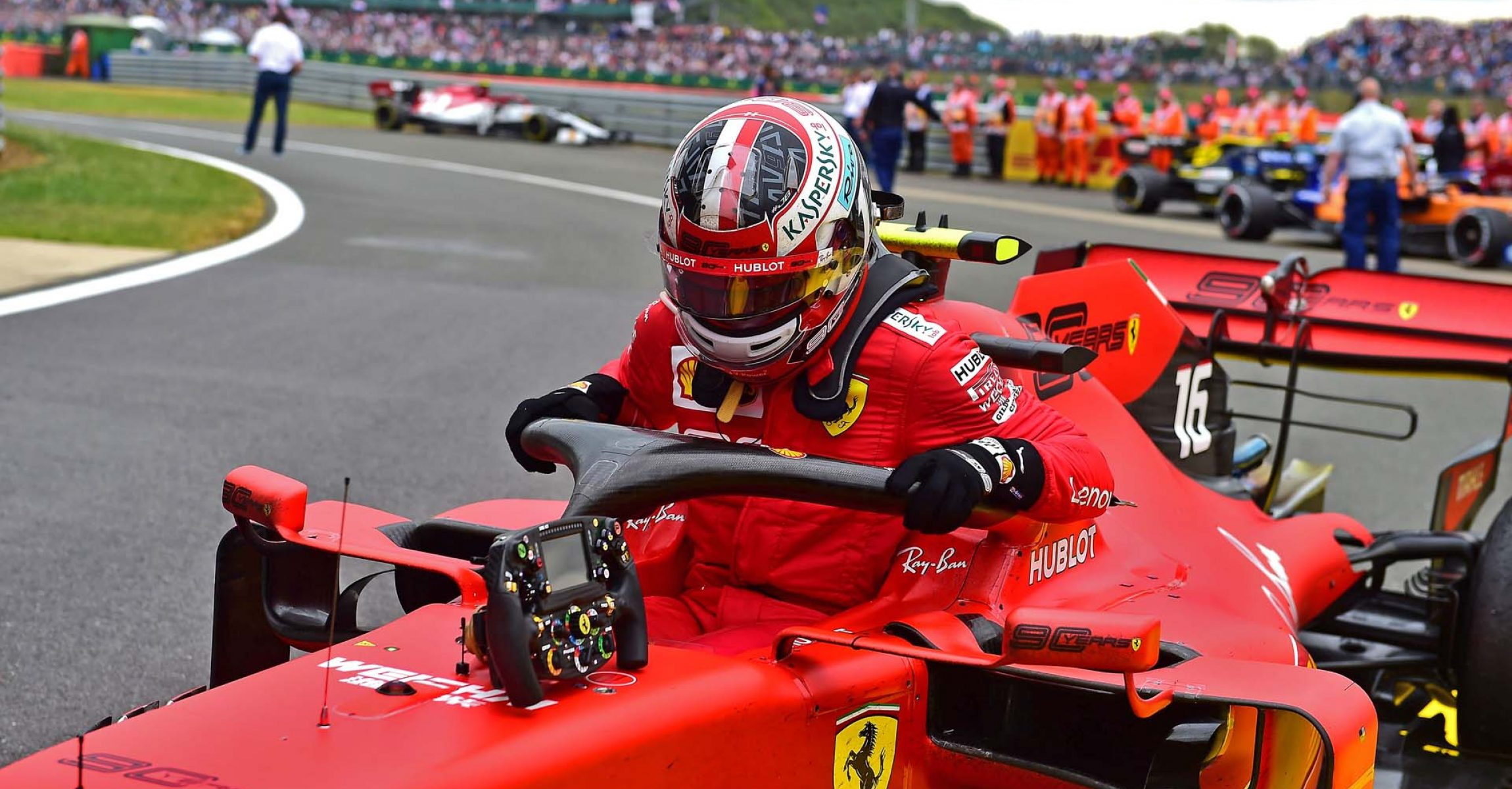 GP GRAN BRETAGNA F1/2019 - DOMENICA 14/07/2019 credit: @Scuderia Ferrari Press Office Charles Leclerc