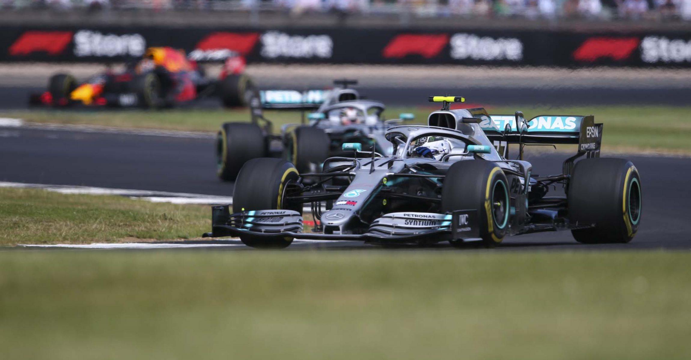 2019 British Grand Prix, Sunday - LAT Images Valtteri Bottas Mercedes