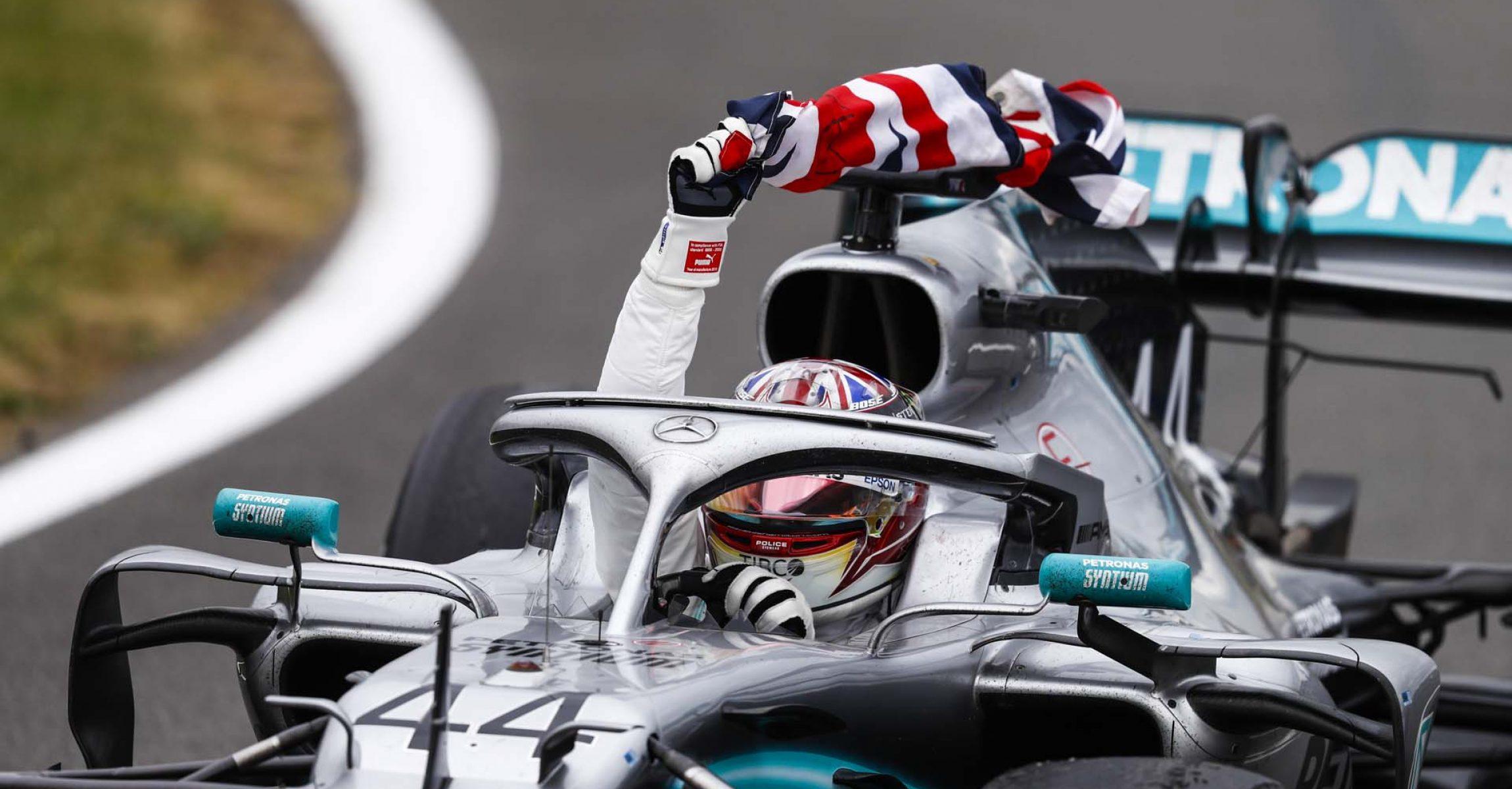 2019 British Grand Prix, Sunday - LAT Images Mercedes Lewis Hamilton