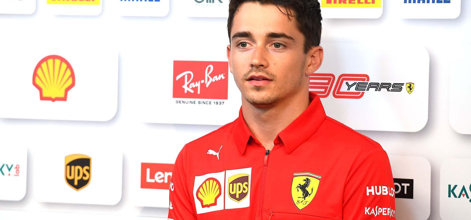GP GRAN BRETAGNA F1/2019 - GIOVEDÌ 11/07/2019 credit: @Scuderia Ferrari Press Office Charles Leclerc