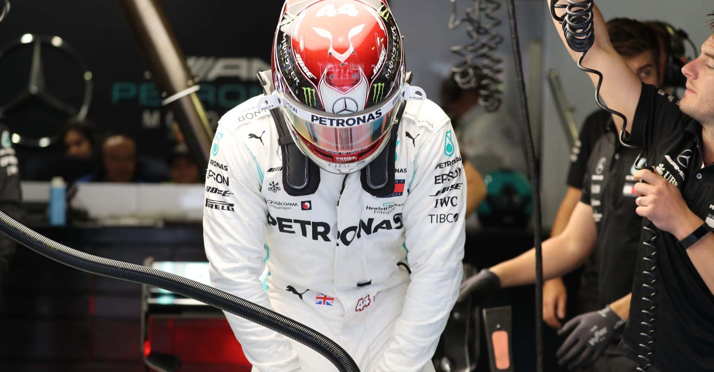 Italian Grand Prix 2019, Monza, Friday, Lewis Hamilton, Mercedes