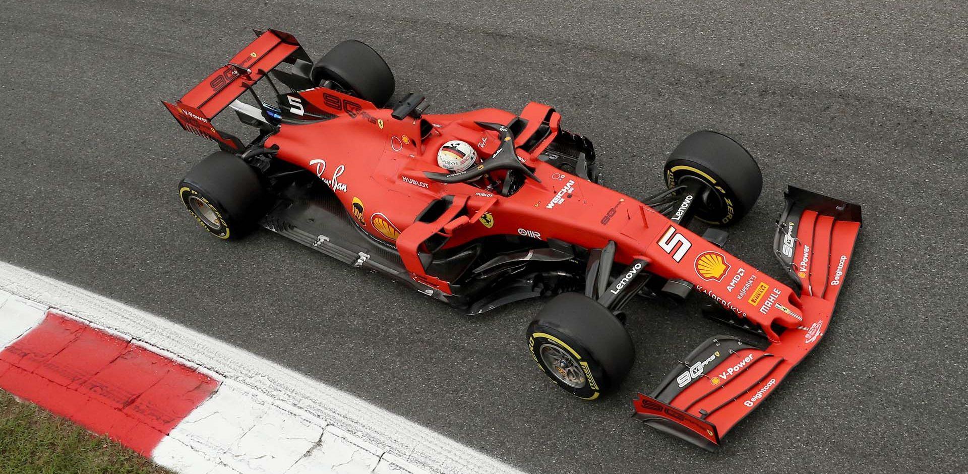 Italian Grand Prix 2019, Monza, Friday, Sebastian Vettel, Ferrari