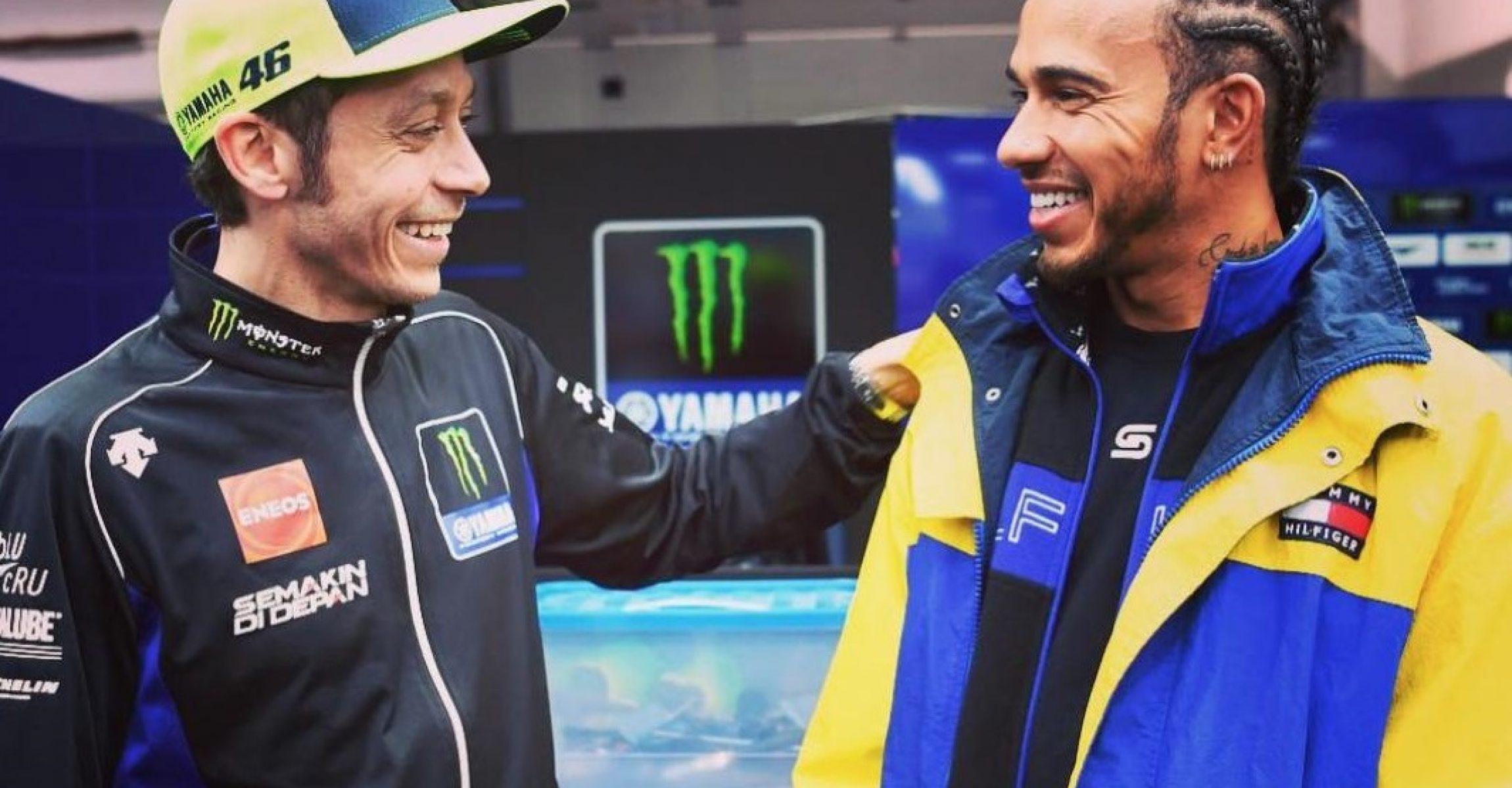 Lewis Hamilton, Valentino Rossi, MotoGP