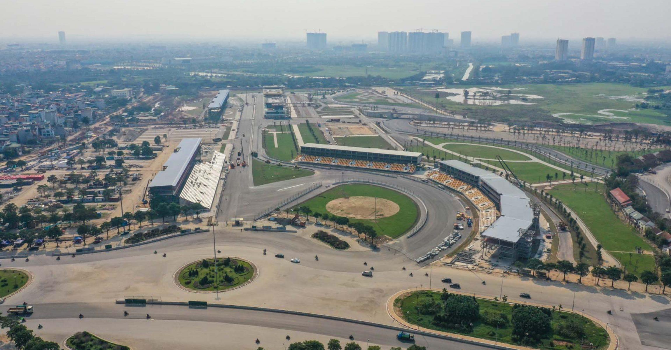 Vietnam Grand Prix, Hanoi, track