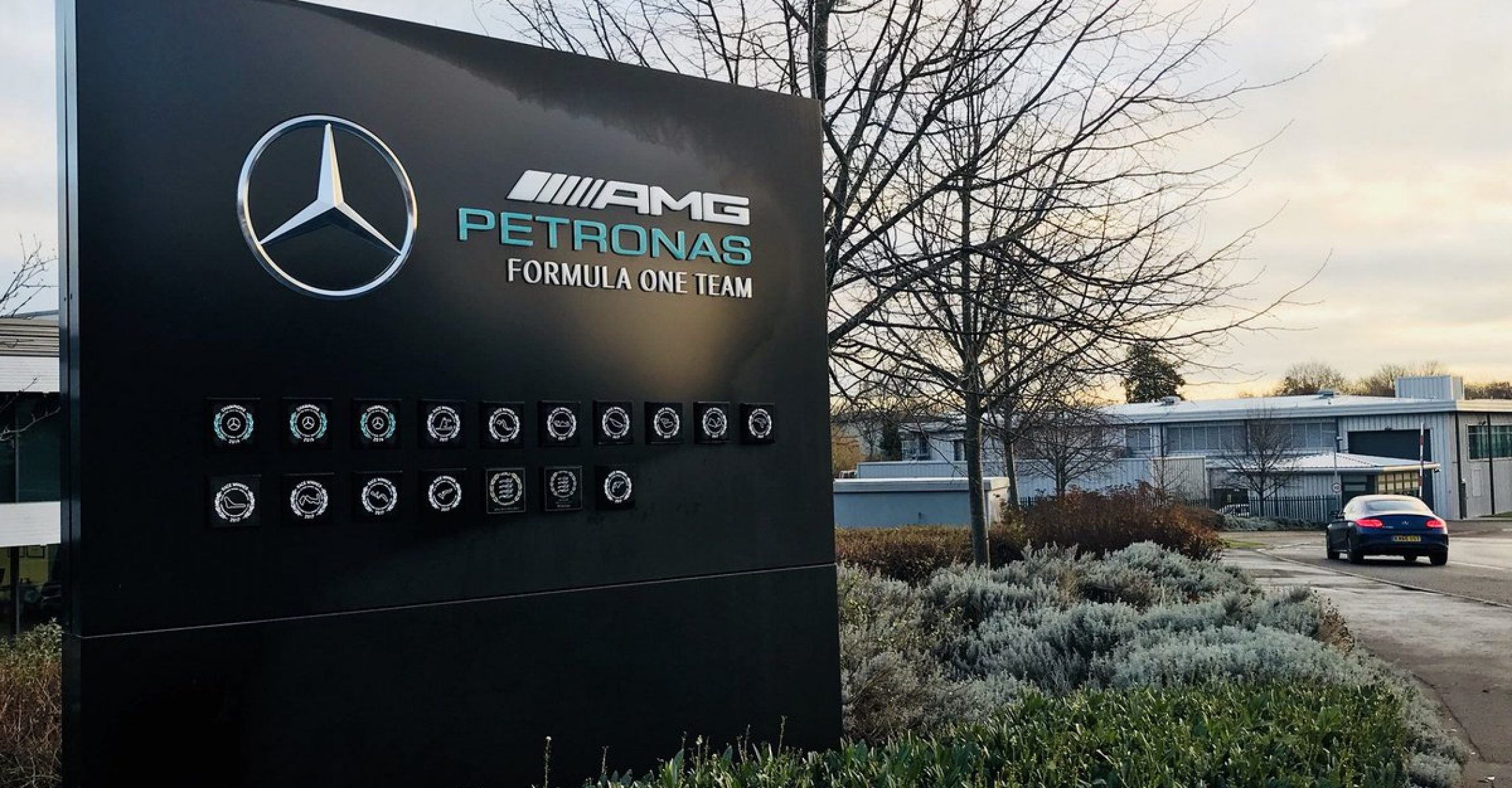 Mercedes factory, Brackley,