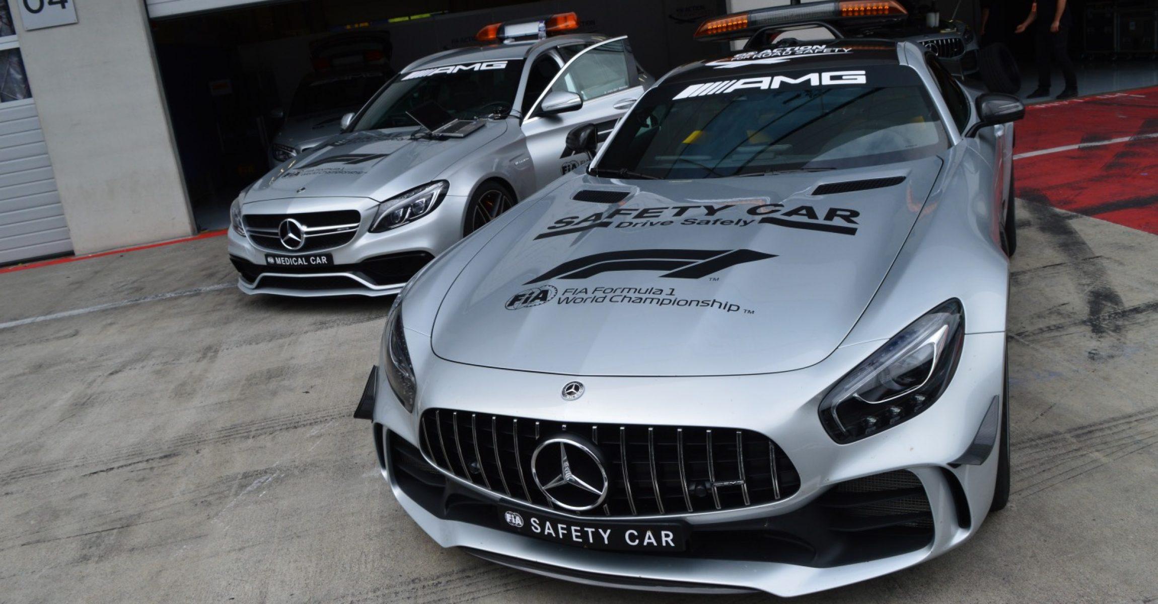 Austrian Grand Prix 2018, Spielberg, Safety Car & Medical Car