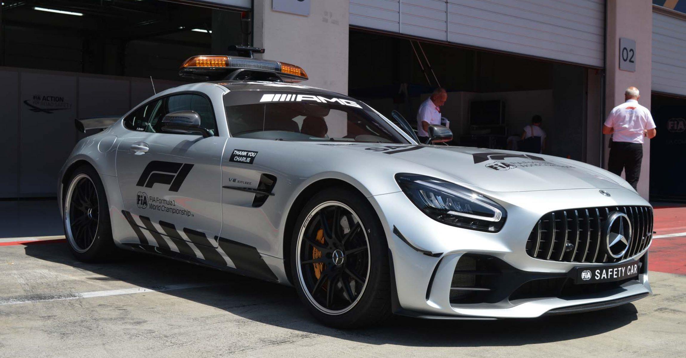 Safety Car, Mercedes