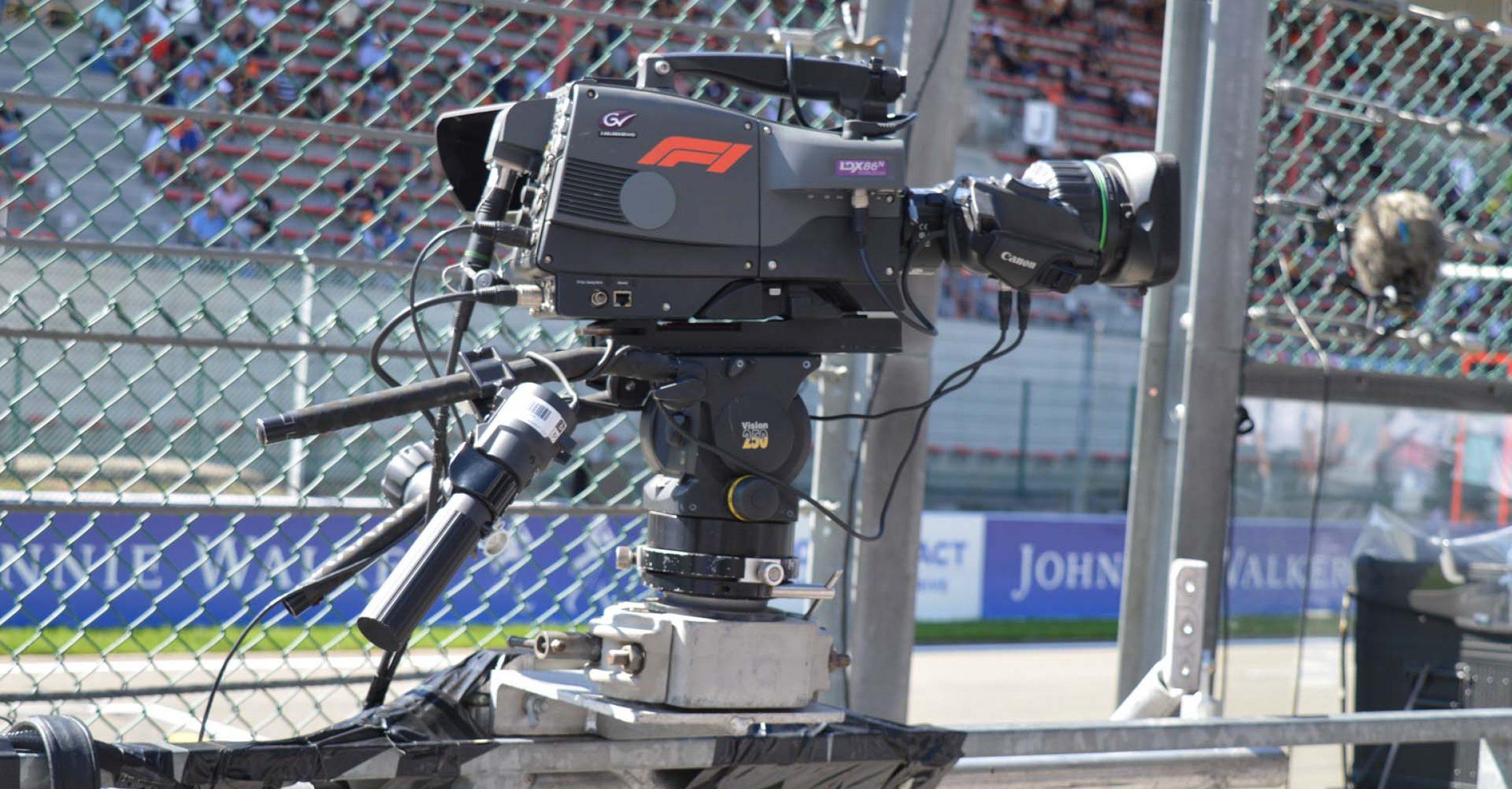 F1 camera, Formula 1, Formula One Management