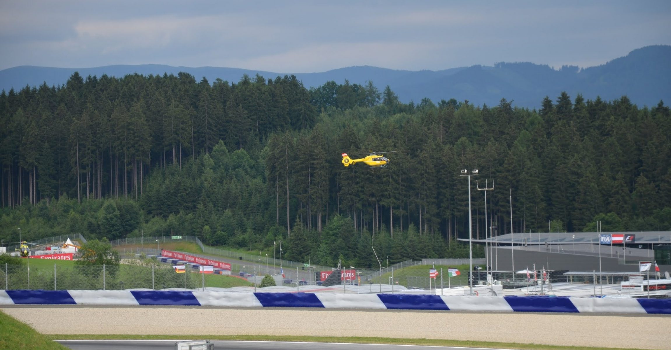 Austrian Grand Prix 2015, Spielberg, Medical Helicopter