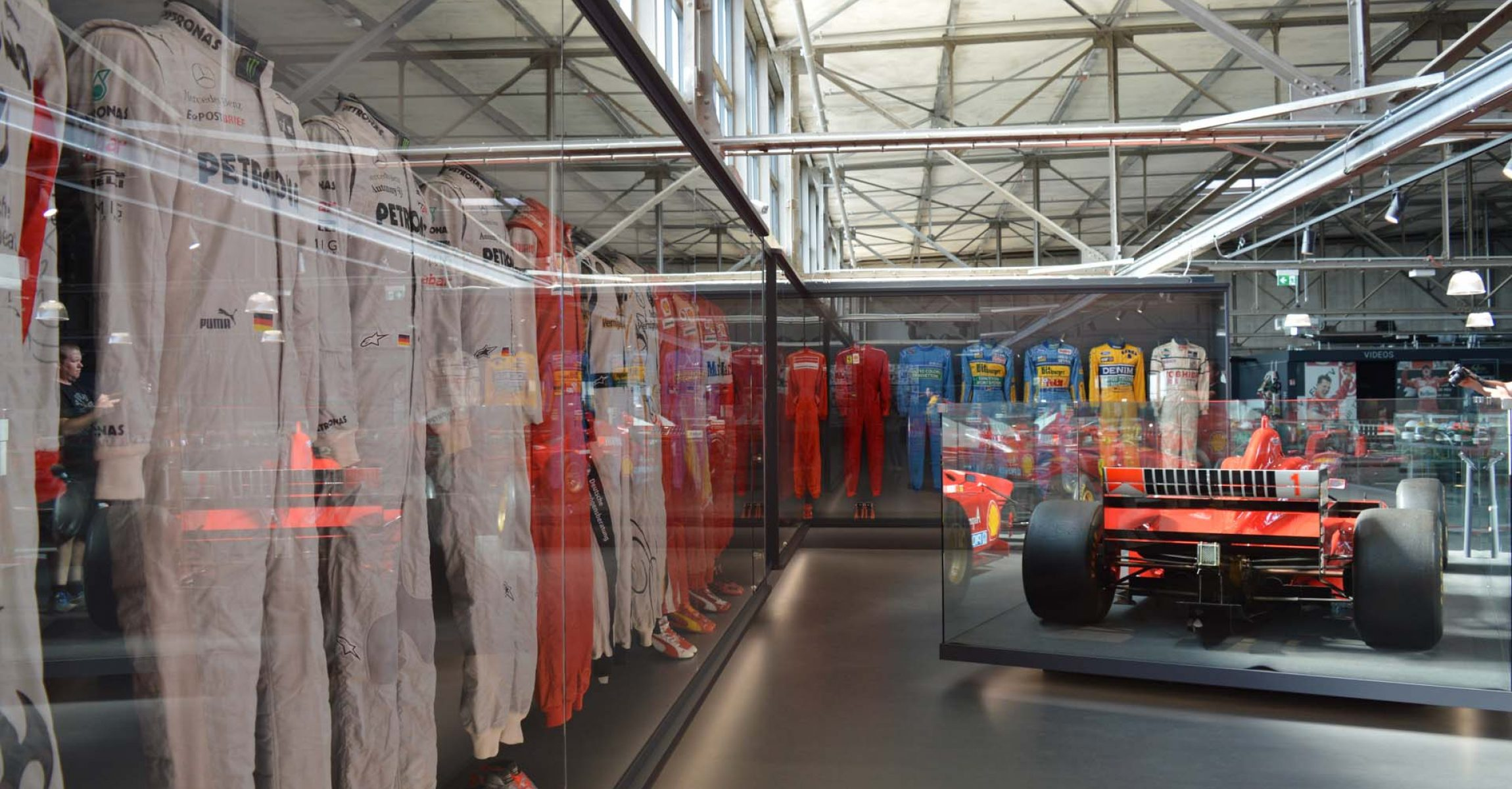 Michael Schumacher Collection, Cologne, 2019, overalls