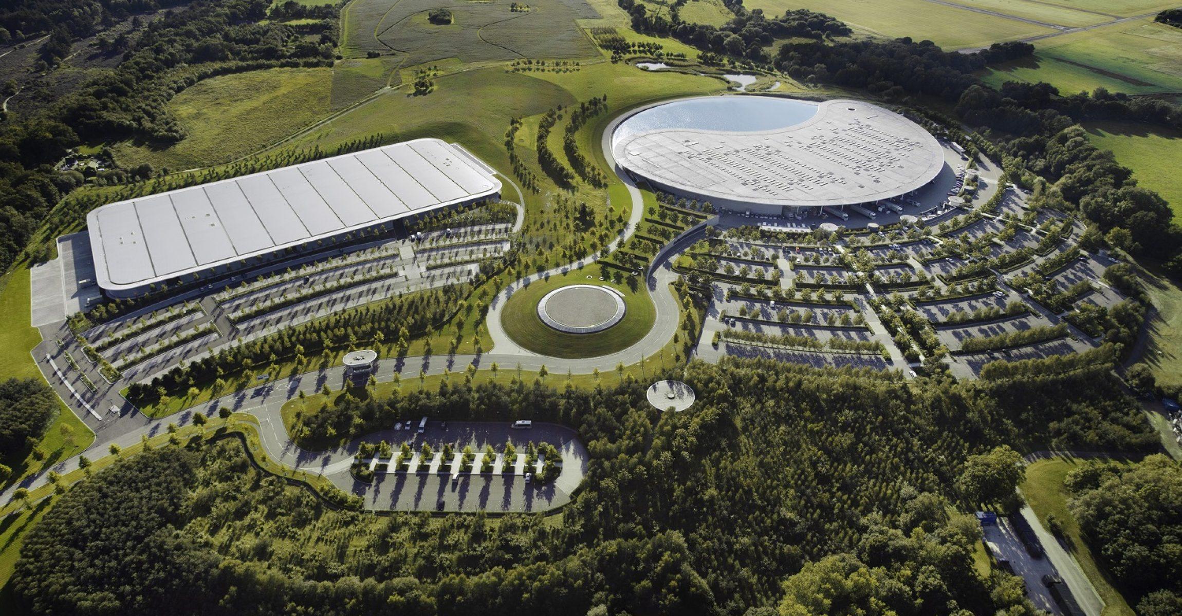 McLaren Technology Centre, Woking, Great Britain