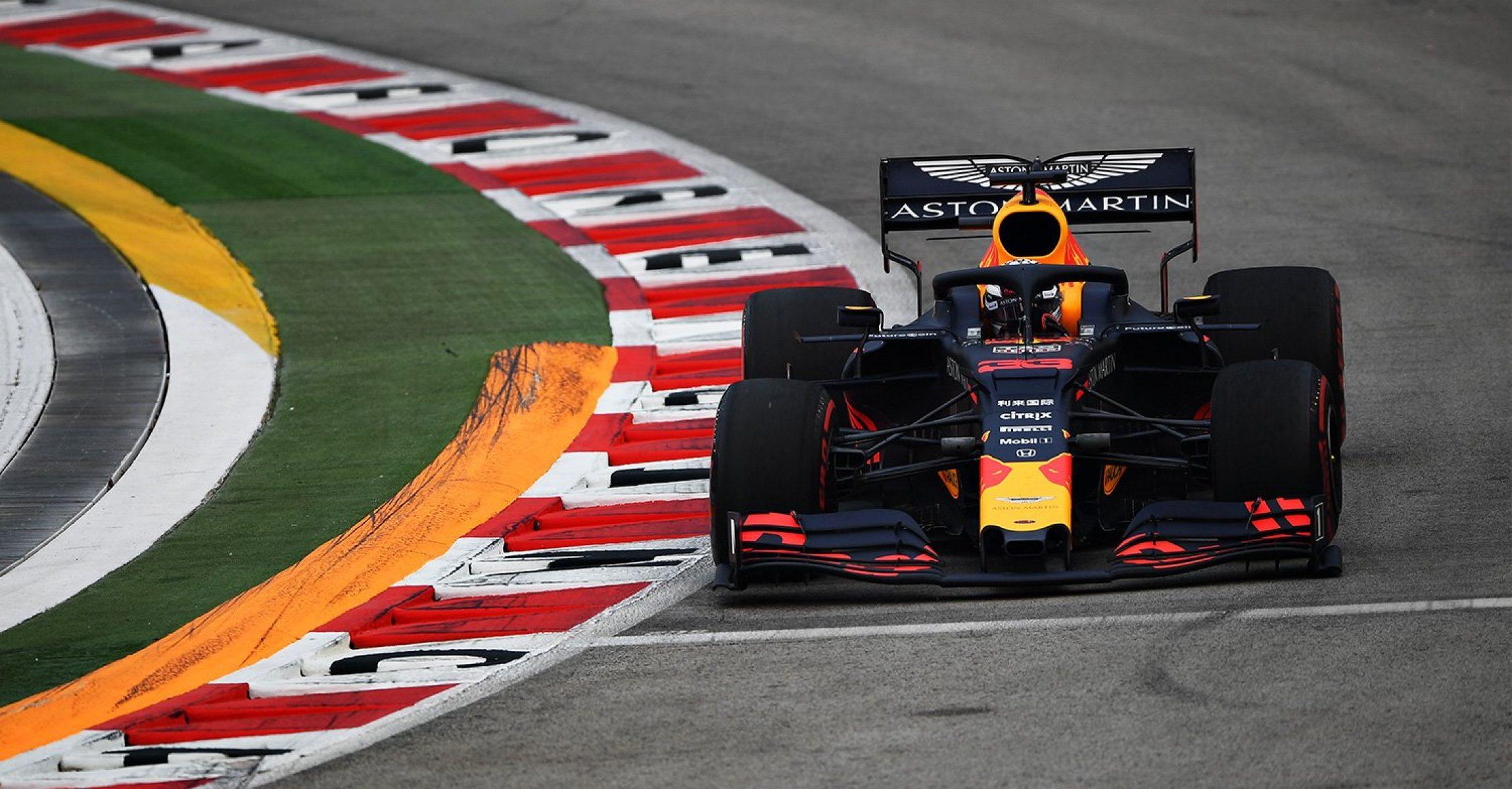 Max Verstappen, Singapore, Red Bull Racing, FP1