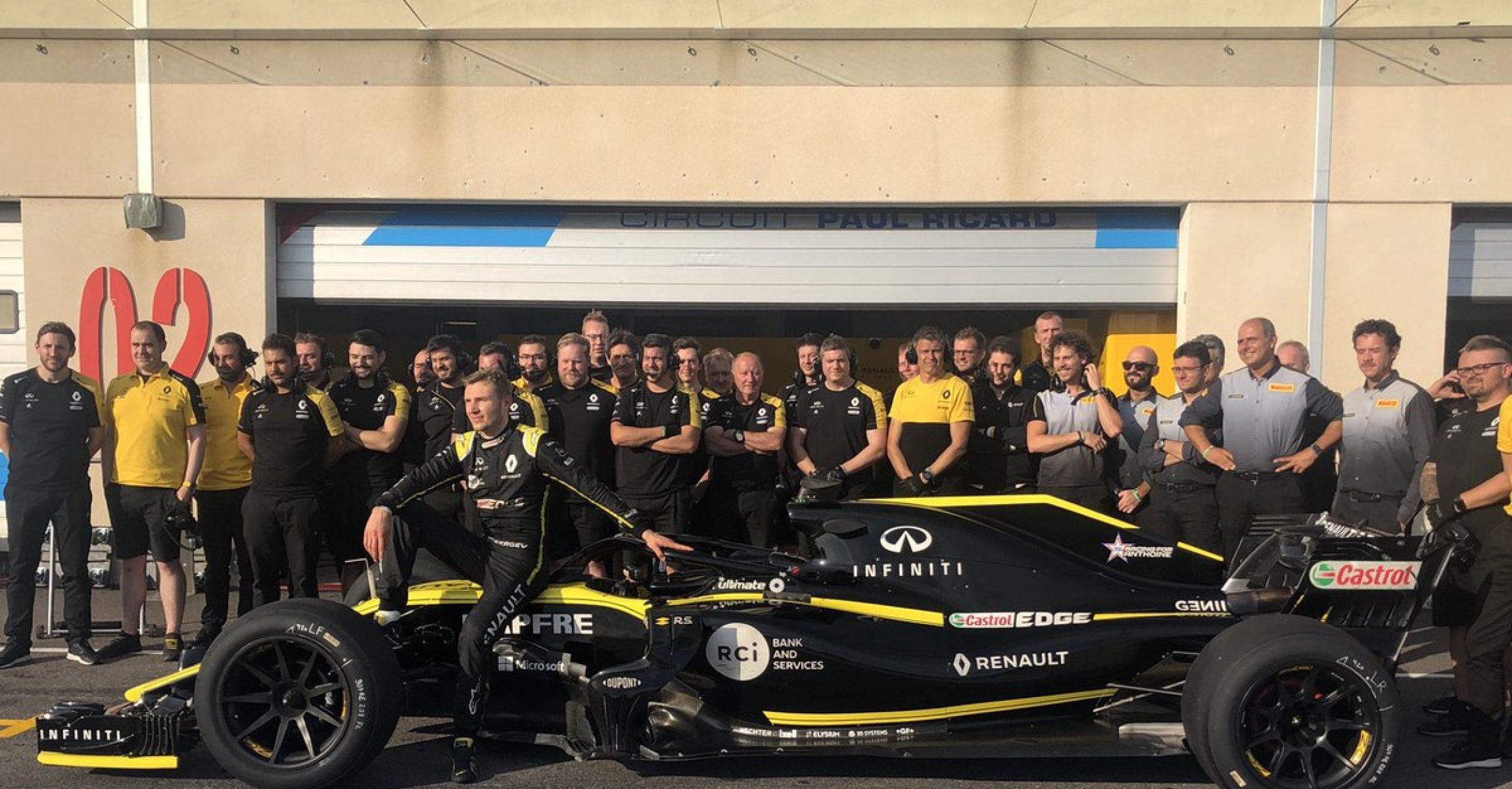 Renault, Pirelli, 18 inch tyre, Sergey Sirotkin