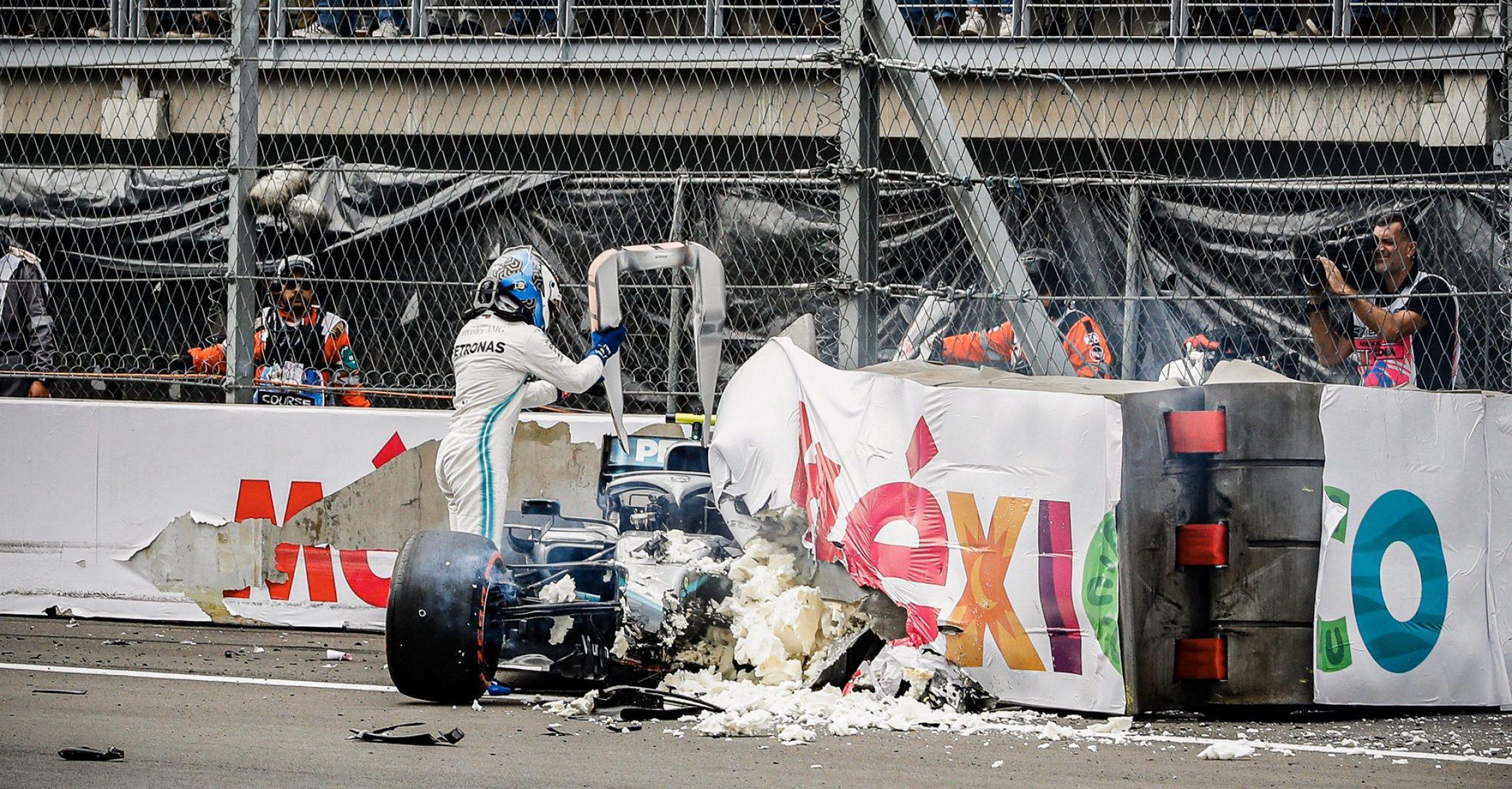 Valtteri Bottas Crash, Mercedes