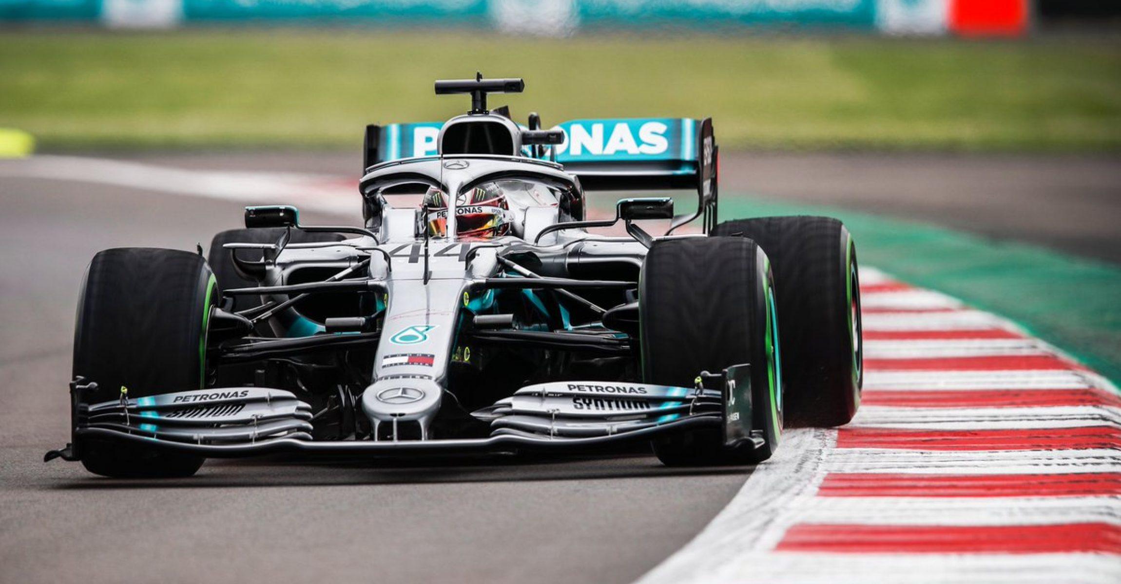 Mercedes, Lewis Hamilton, intermediate