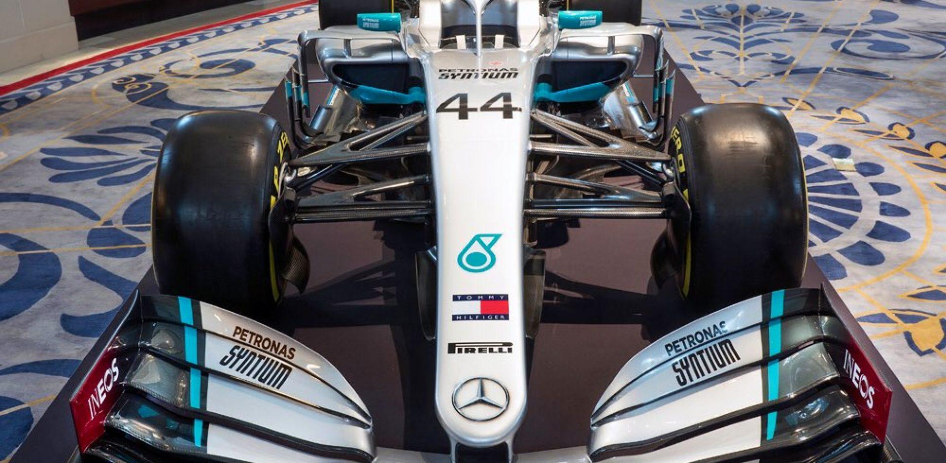 Mercedes livery 2020