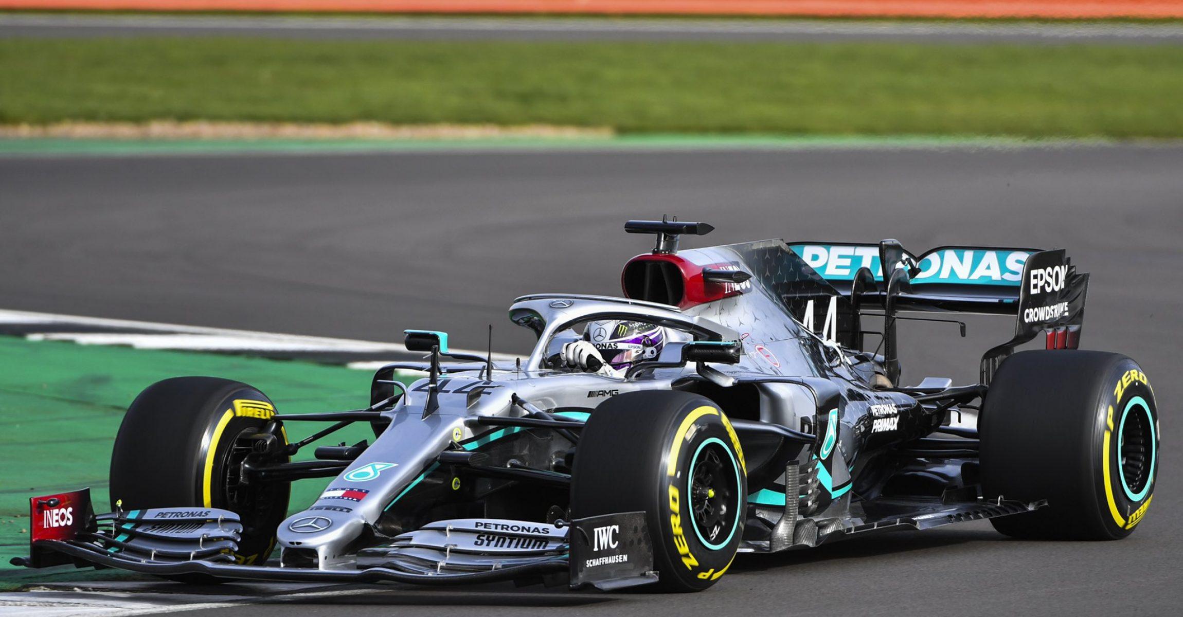 Lewis Hamilton Mercedes W11 Silverstone