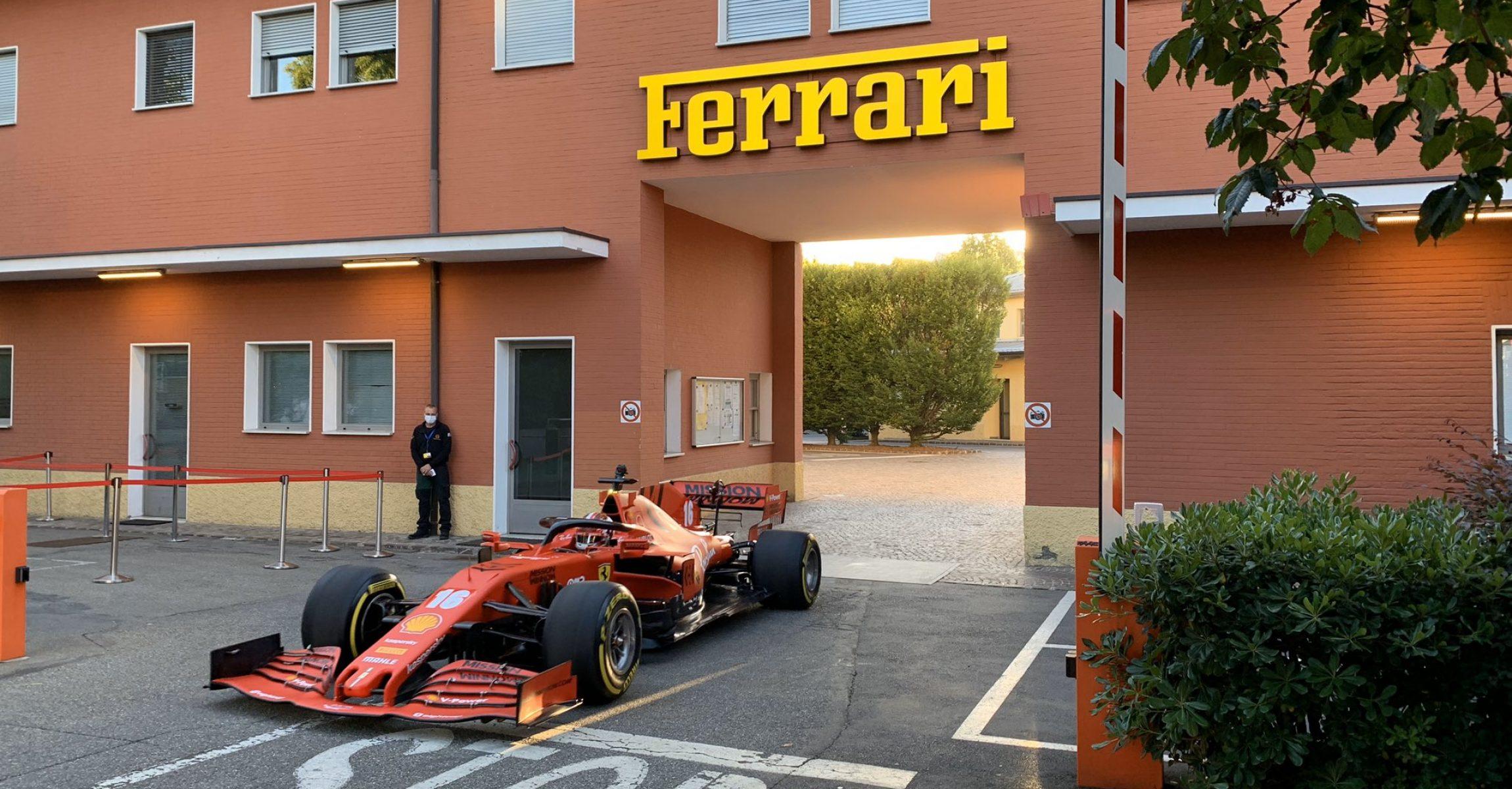 Charles Leclerc, Ferrari, Maranello