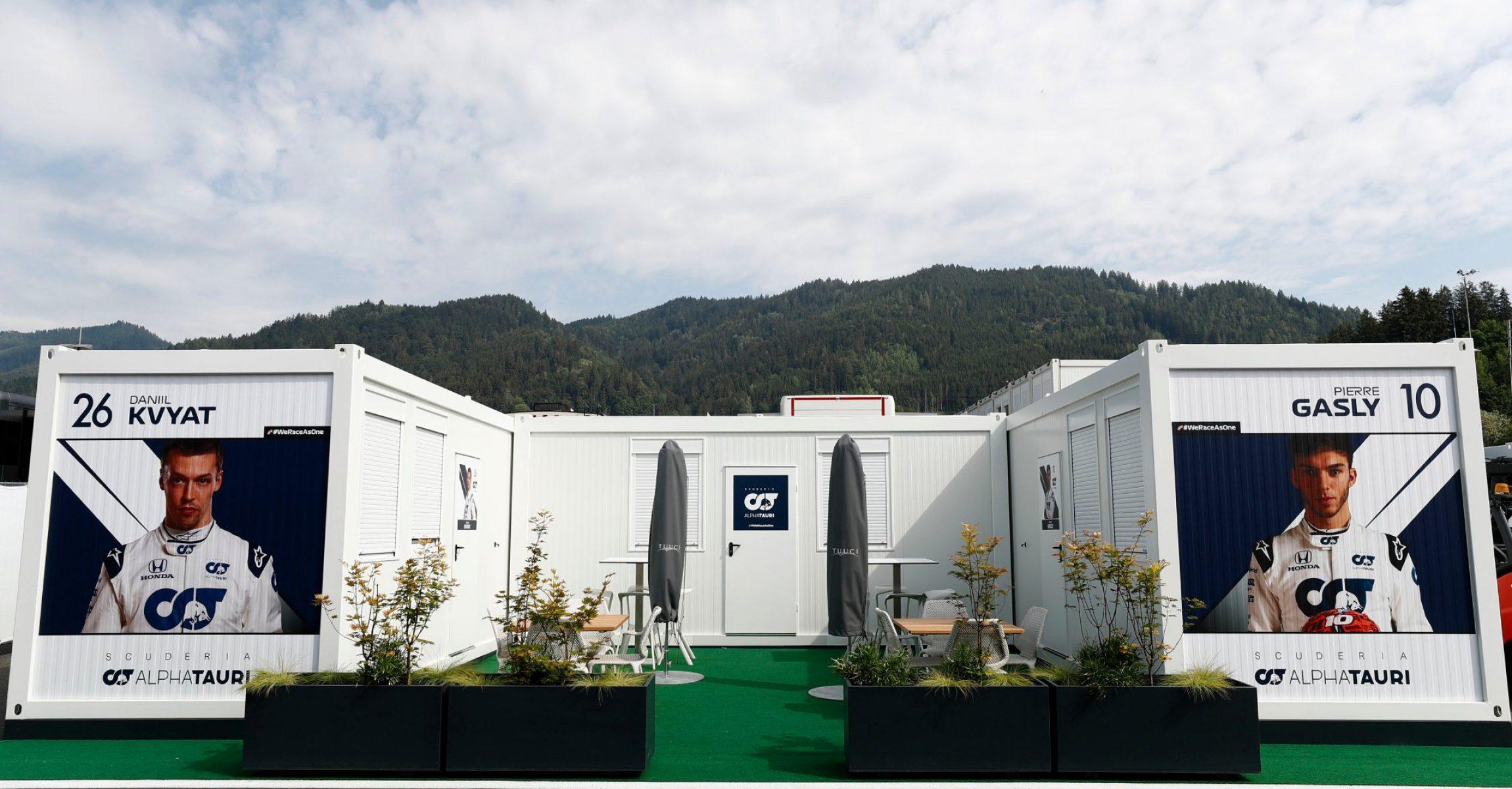 F1 paddock, Spielberg