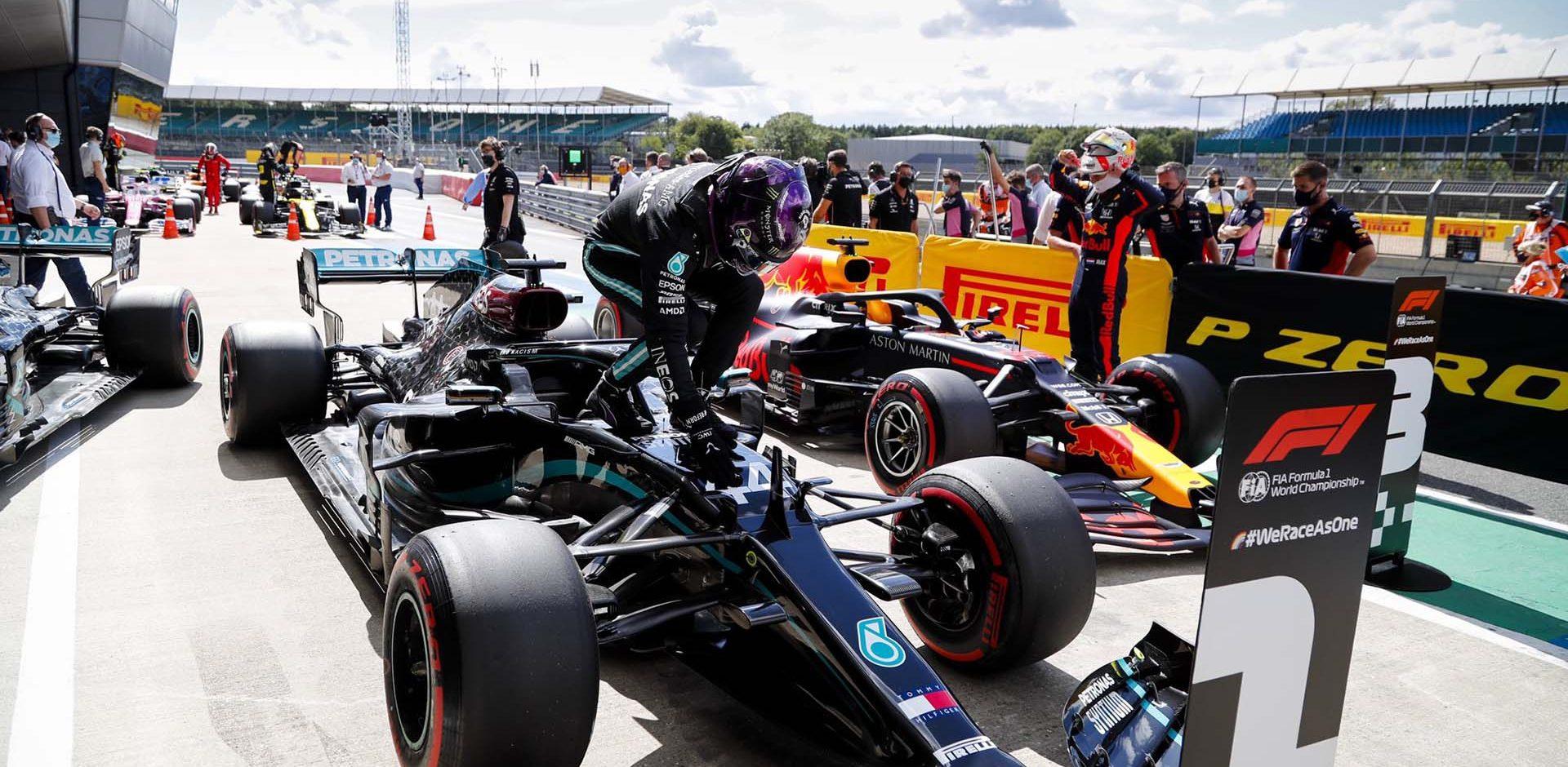 Lewis Hamilton Mercedes pole British Grand Prix 2020