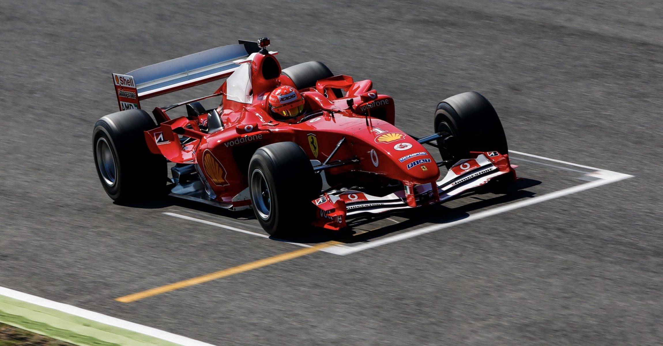 Mick Schumacher, Ferrari, F2004