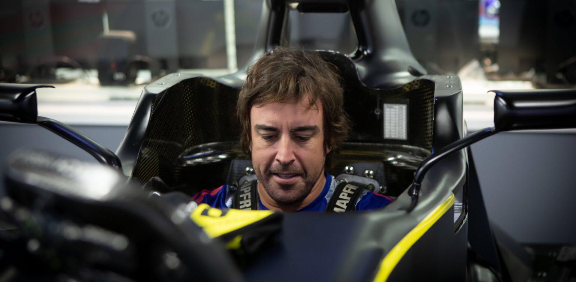 Fernando Alonso, Renault, Seat Fit