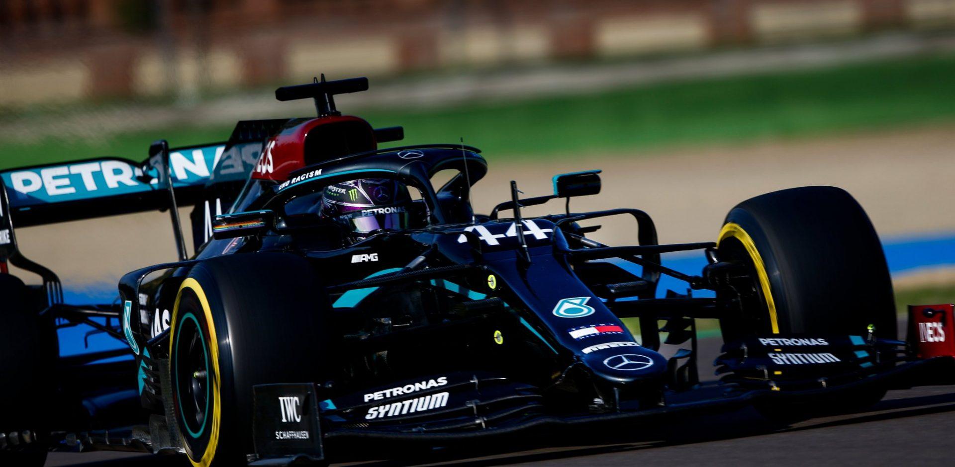 Lewis Hamilton, Mercedes, Imola, Emilia Romagna Grand Prix, Imola