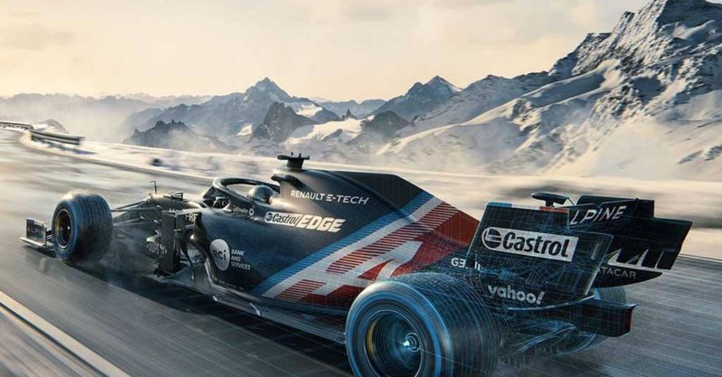 Alpine F1 2021 livery