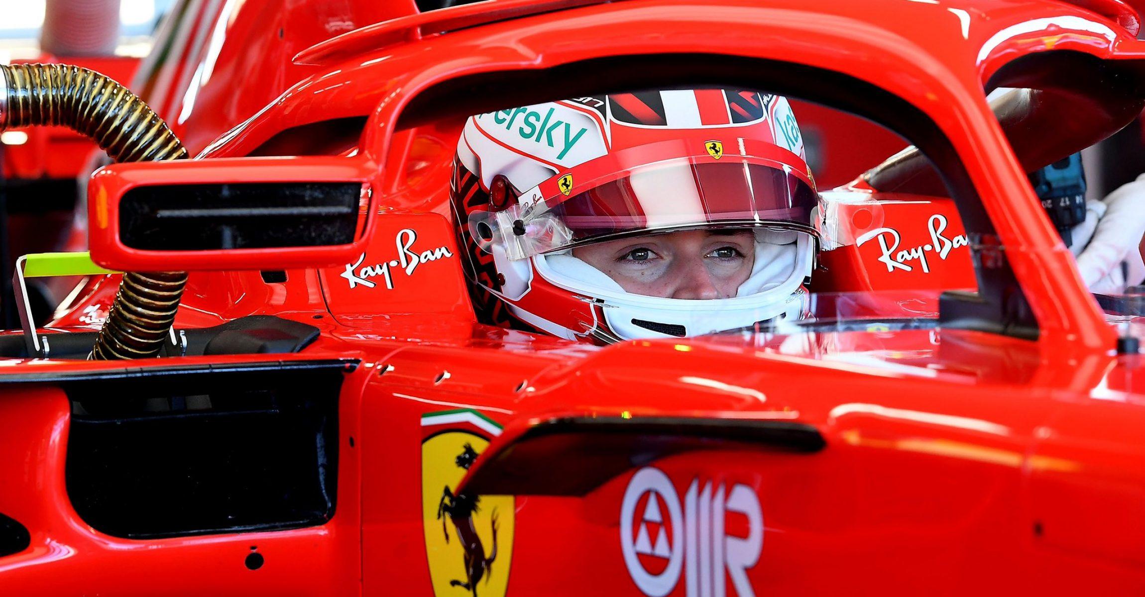 Charles Leclerc, Ferrari, SF71H, Fiorano, 26.01.2021