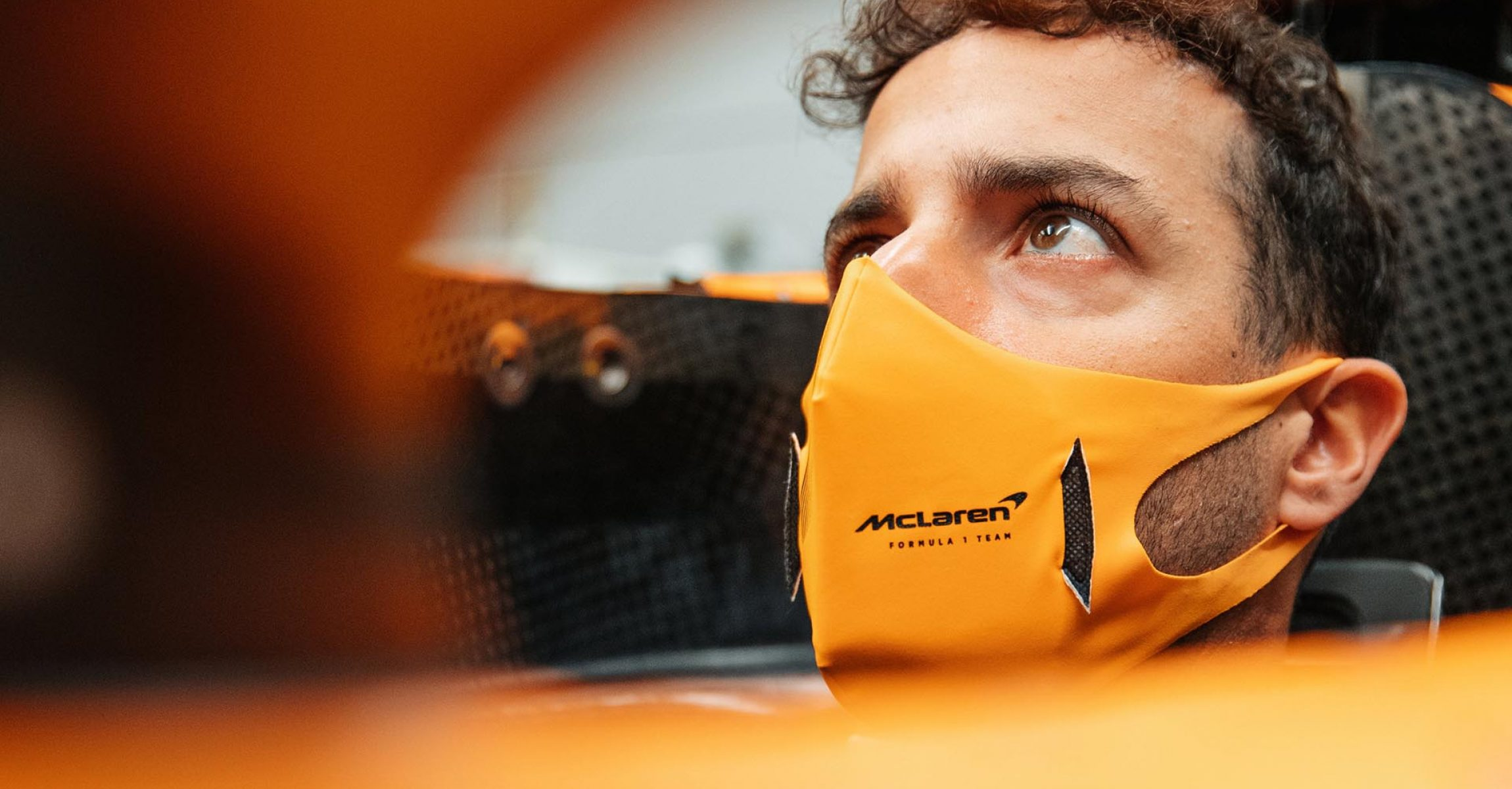 Daniel Ricciardo MCL35M McLaren seat fit
