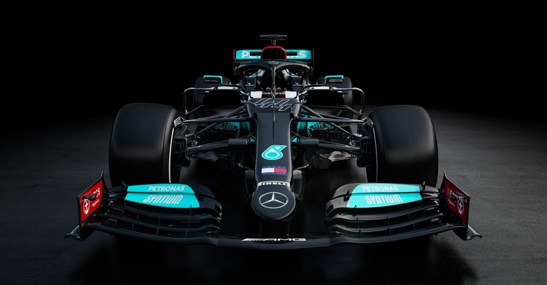 Mercedes W12 studio image