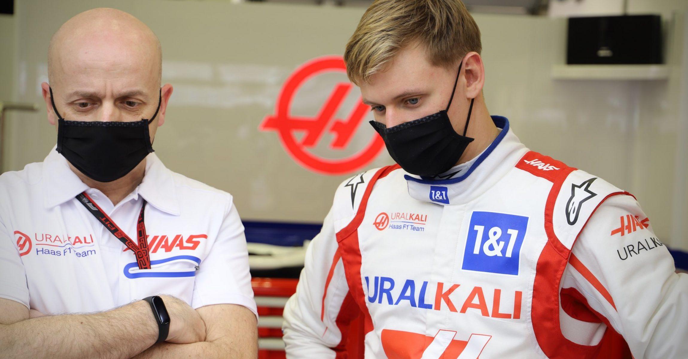Simone Resta, Mick Schumacher, Haas