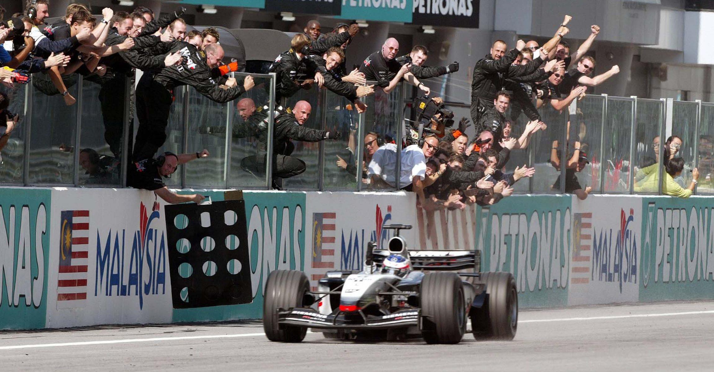 Kimi Räikkönen, McLaren, 2003 Malaysian Grand Prix