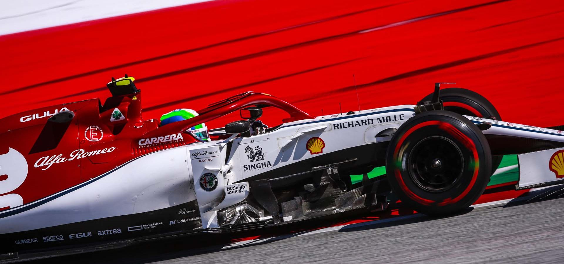 99 GIOVINAZZI Antonio (ita), Alfa Romeo Racing C38, action during the 2019 Formula One World Championship, Grand Prix of Austria from June 27 to 31, in Spielberg, Austria - Photo Xavi Bonilla / DPPI